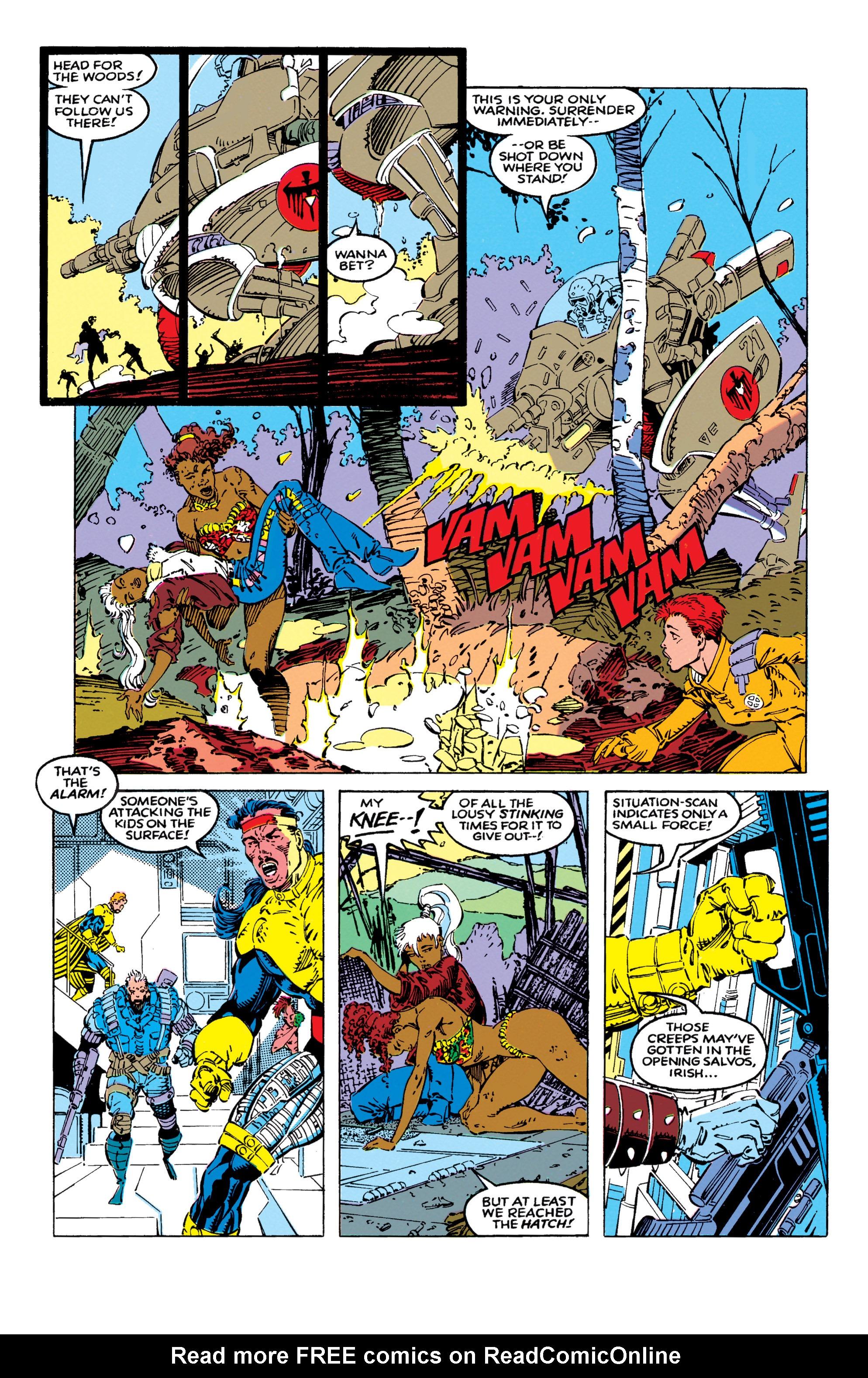 Read online Uncanny X-Men (1963) comic -  Issue #270 - 15