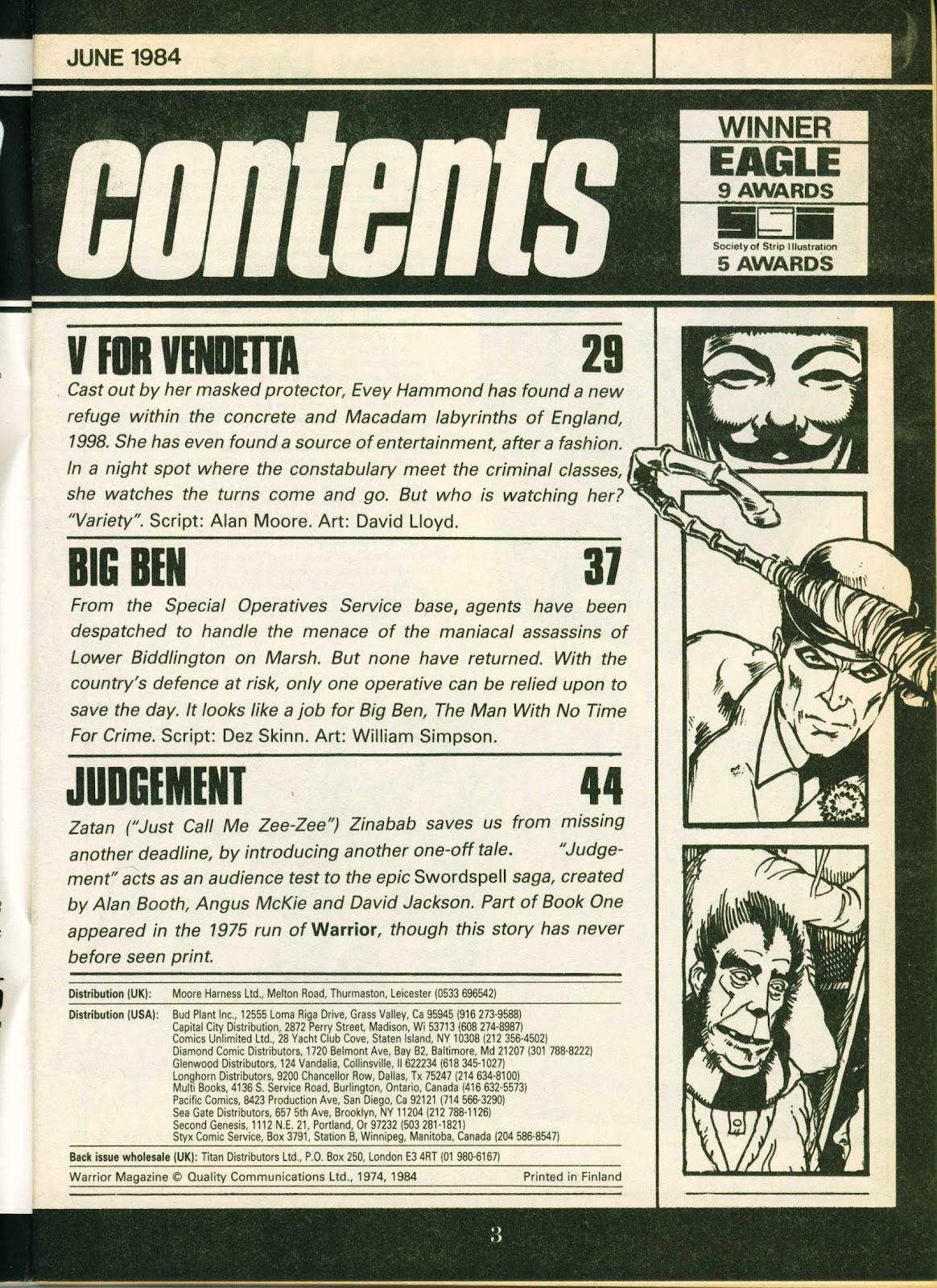 Warrior Issue #19 #20 - English 3