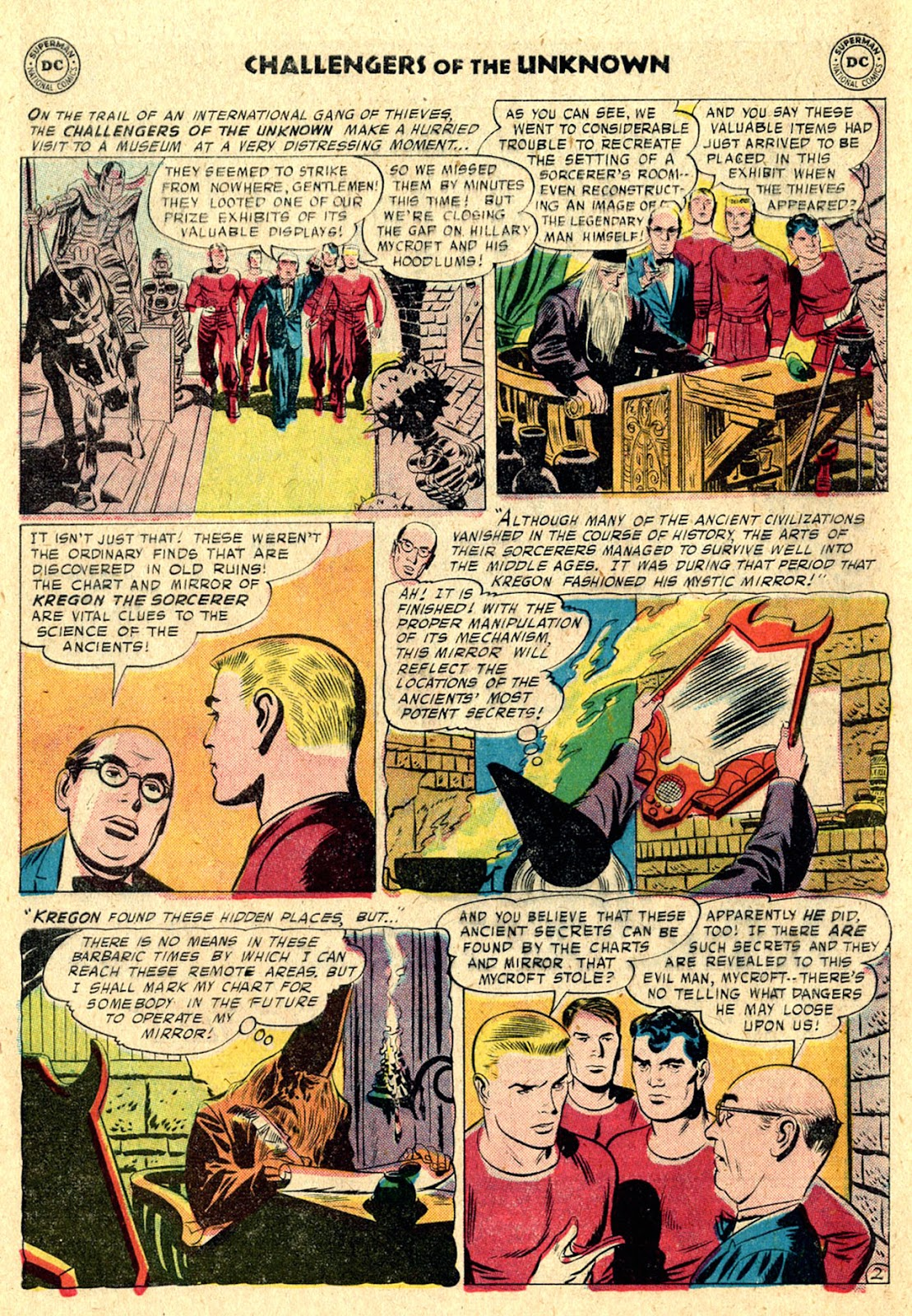 Challengers of the Unknown (1958) issue 3 - Page 4