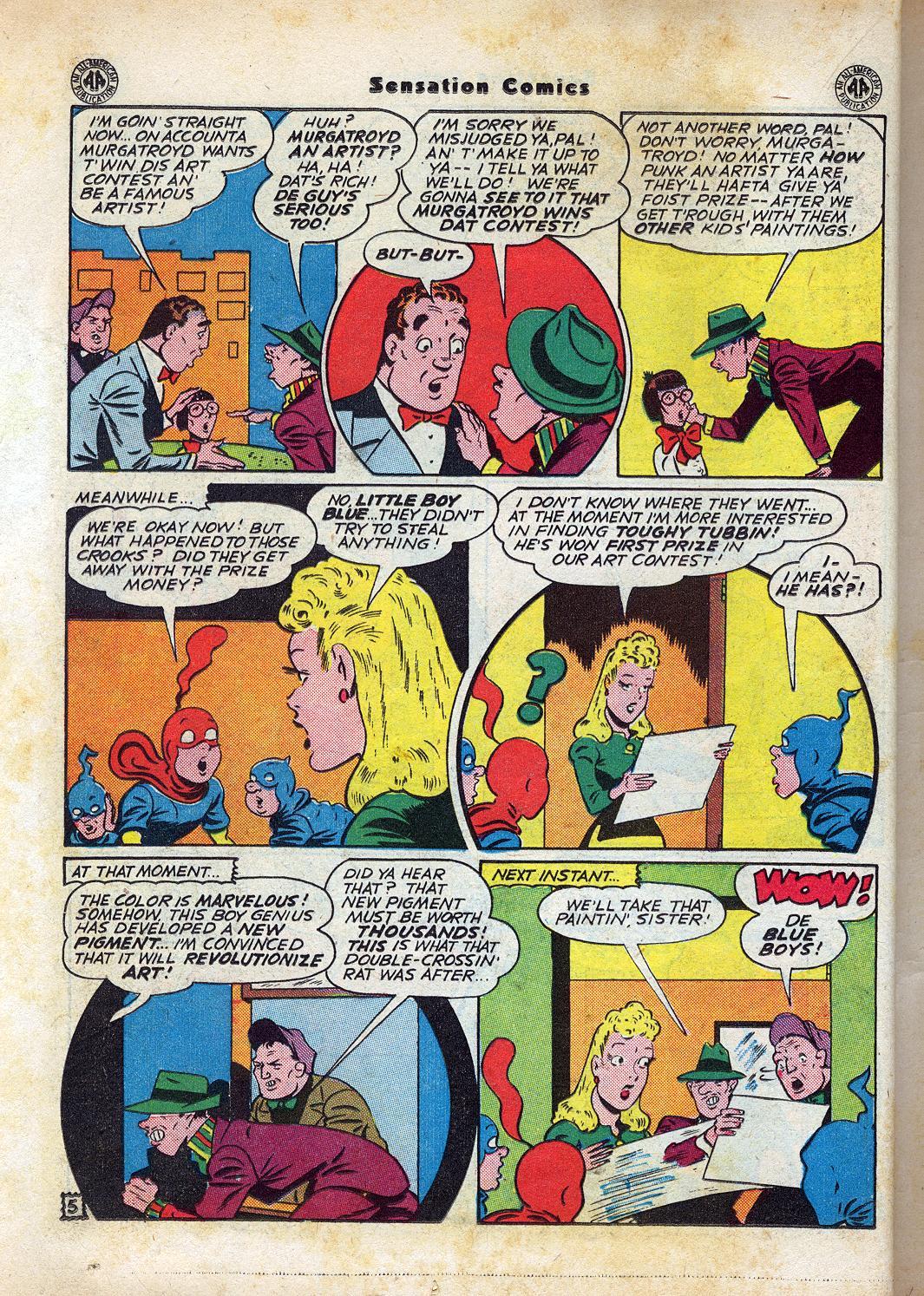 Read online Sensation (Mystery) Comics comic -  Issue #47 - 20