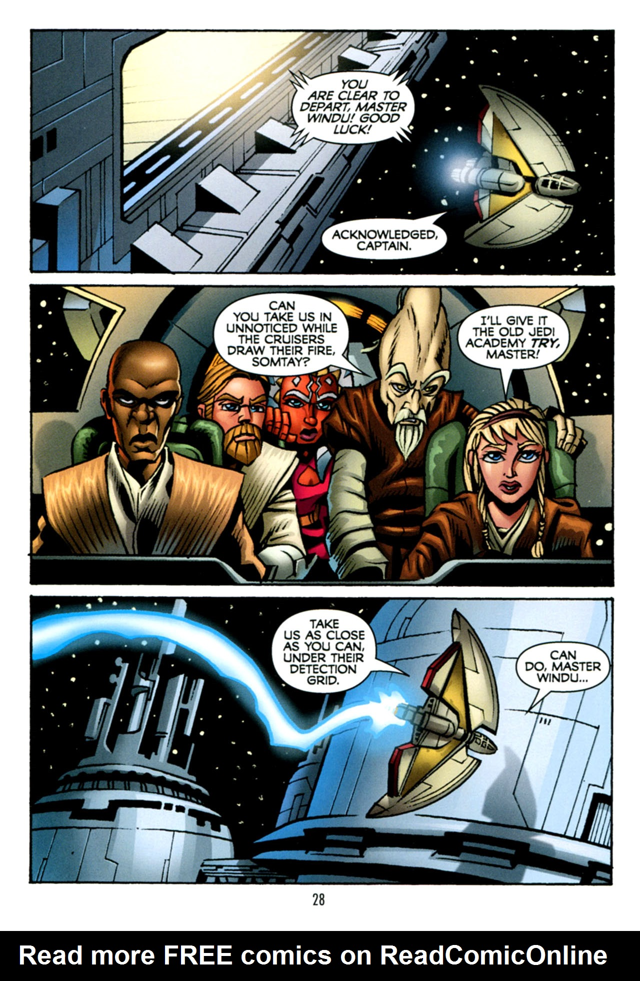 Read online Star Wars: The Clone Wars - The Starcrusher Trap comic -  Issue # Full - 29