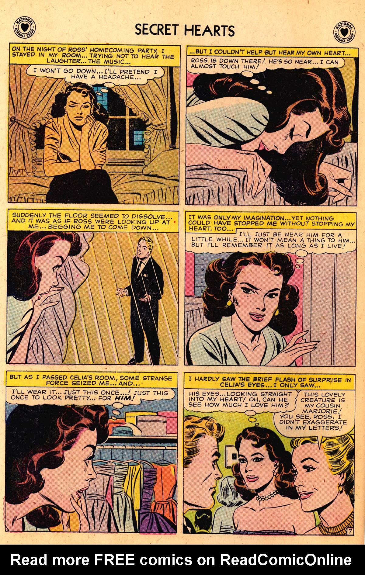 Read online Secret Hearts comic -  Issue #52 - 32