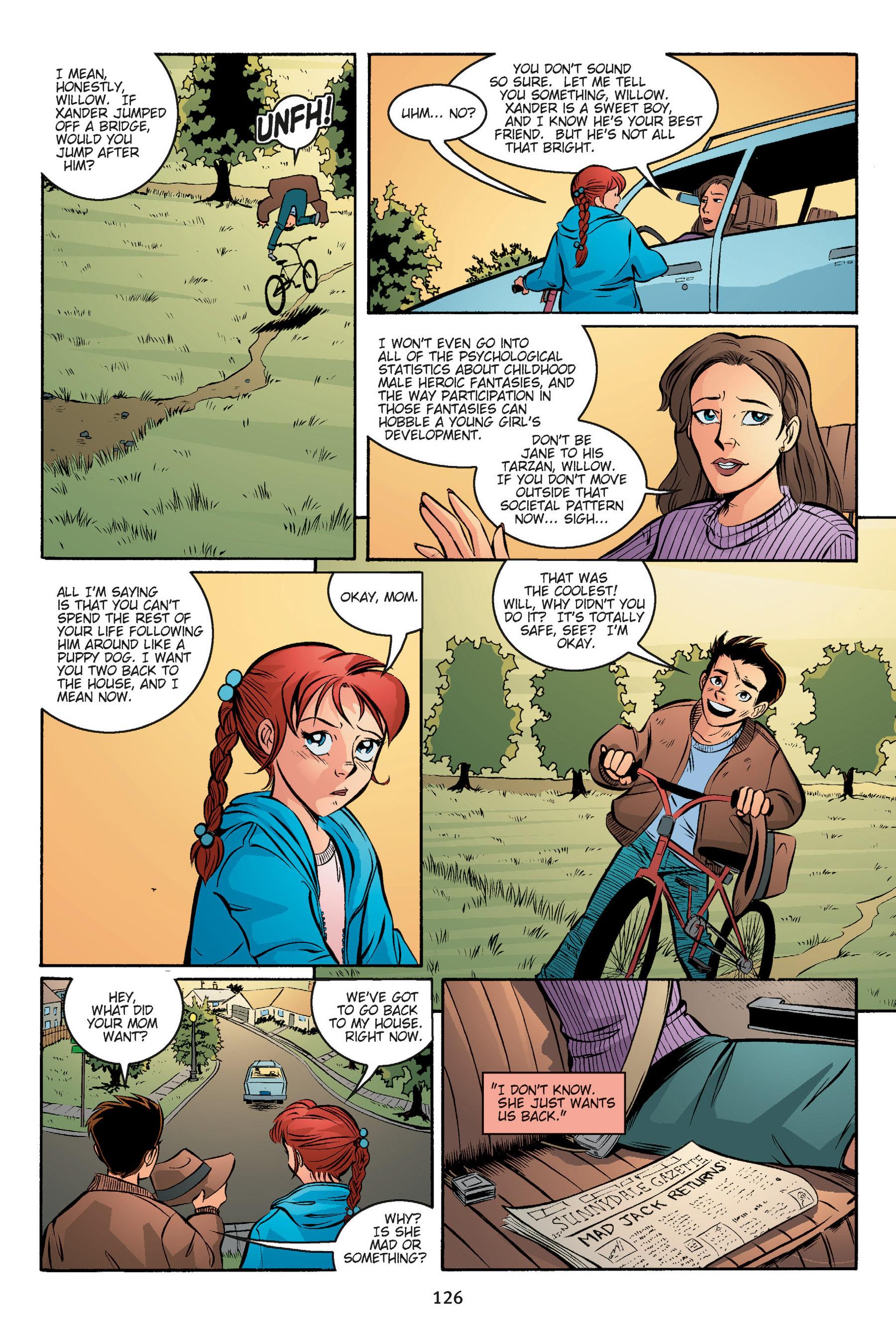 Read online Buffy the Vampire Slayer: Omnibus comic -  Issue # TPB 5 - 126