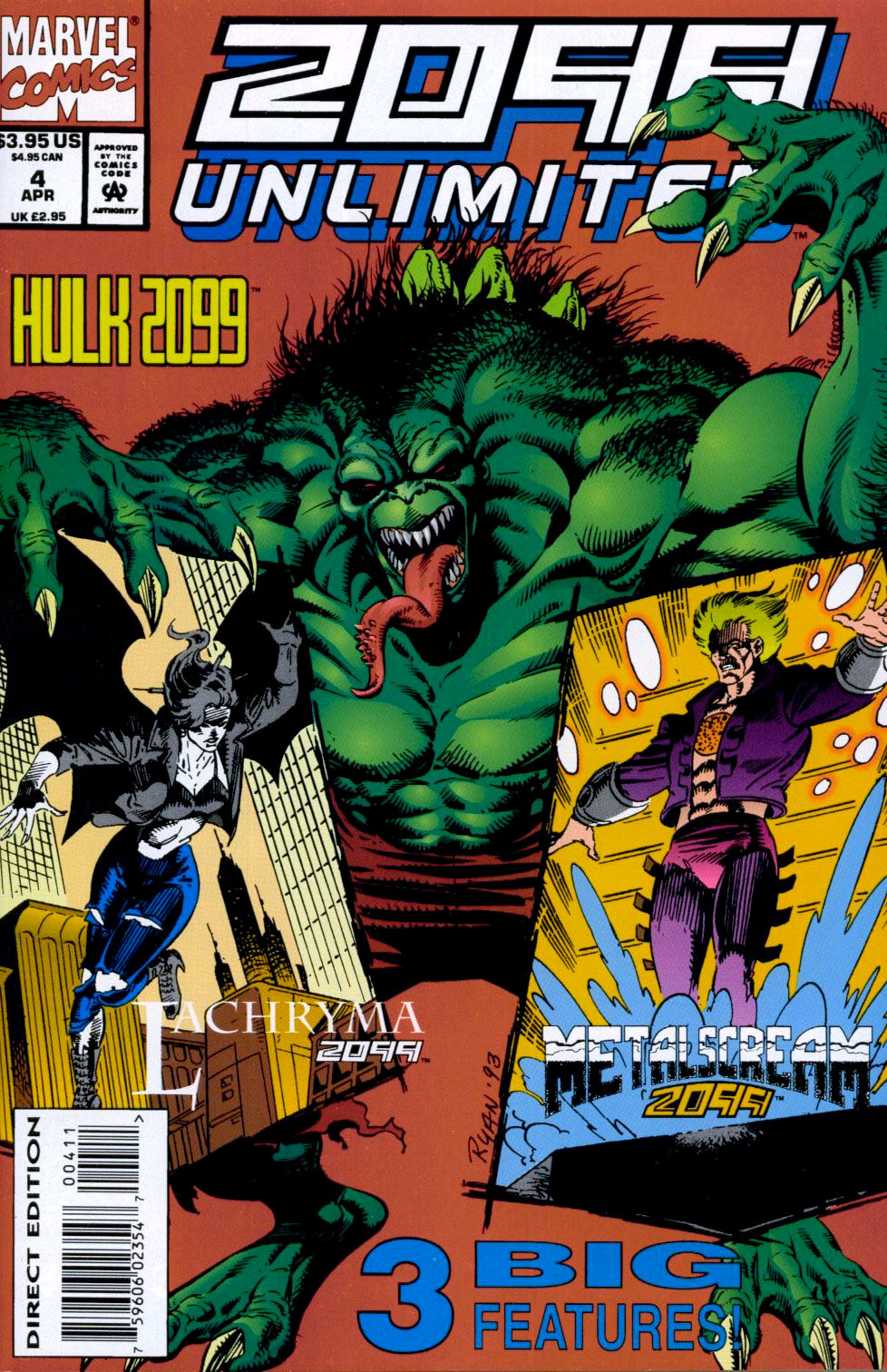 Read online 2099 Unlimited comic -  Issue #4 - 1