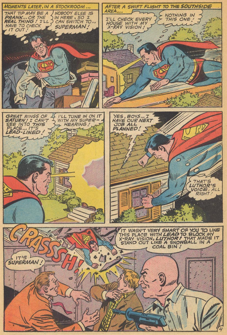 Read online Action Comics (1938) comic -  Issue #354 - 7