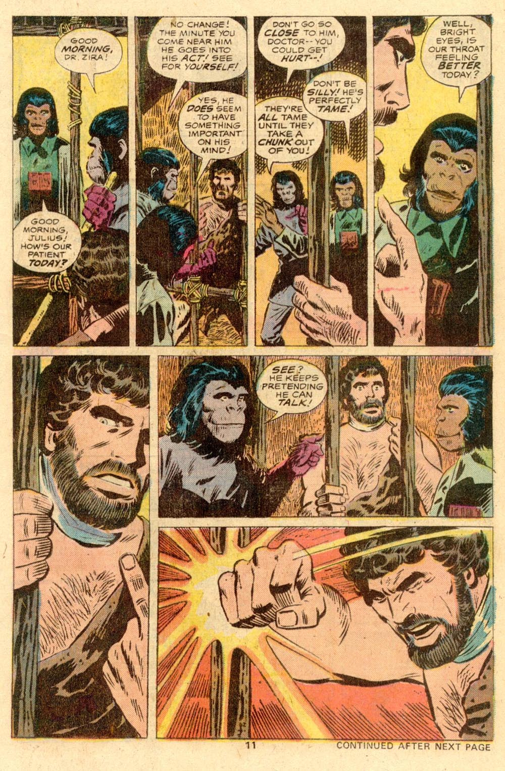 Read online Adventures on the Planet of the Apes comic -  Issue #2 - 8