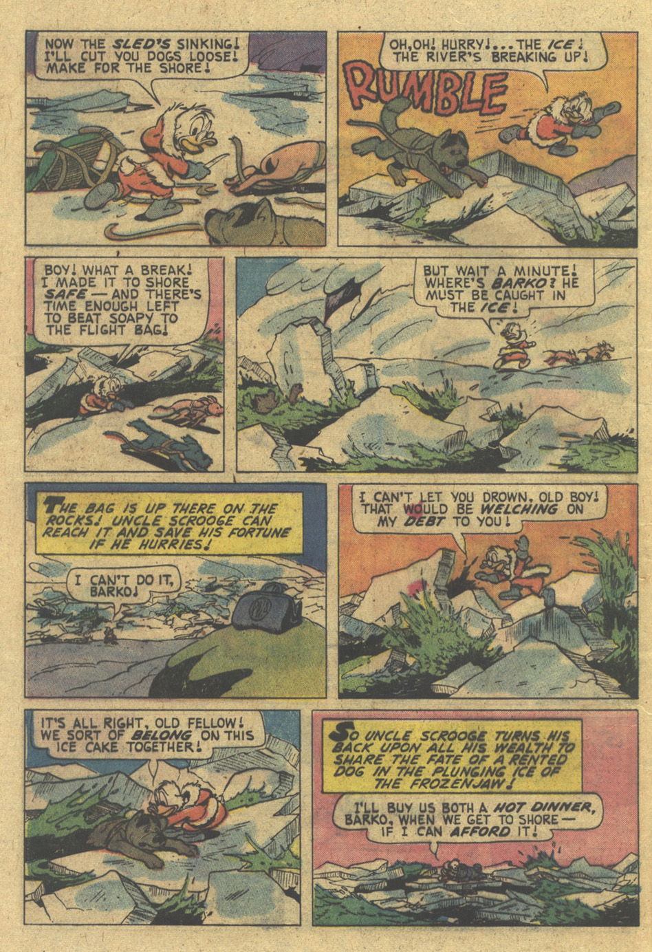 Read online Uncle Scrooge (1953) comic -  Issue #124 - 28