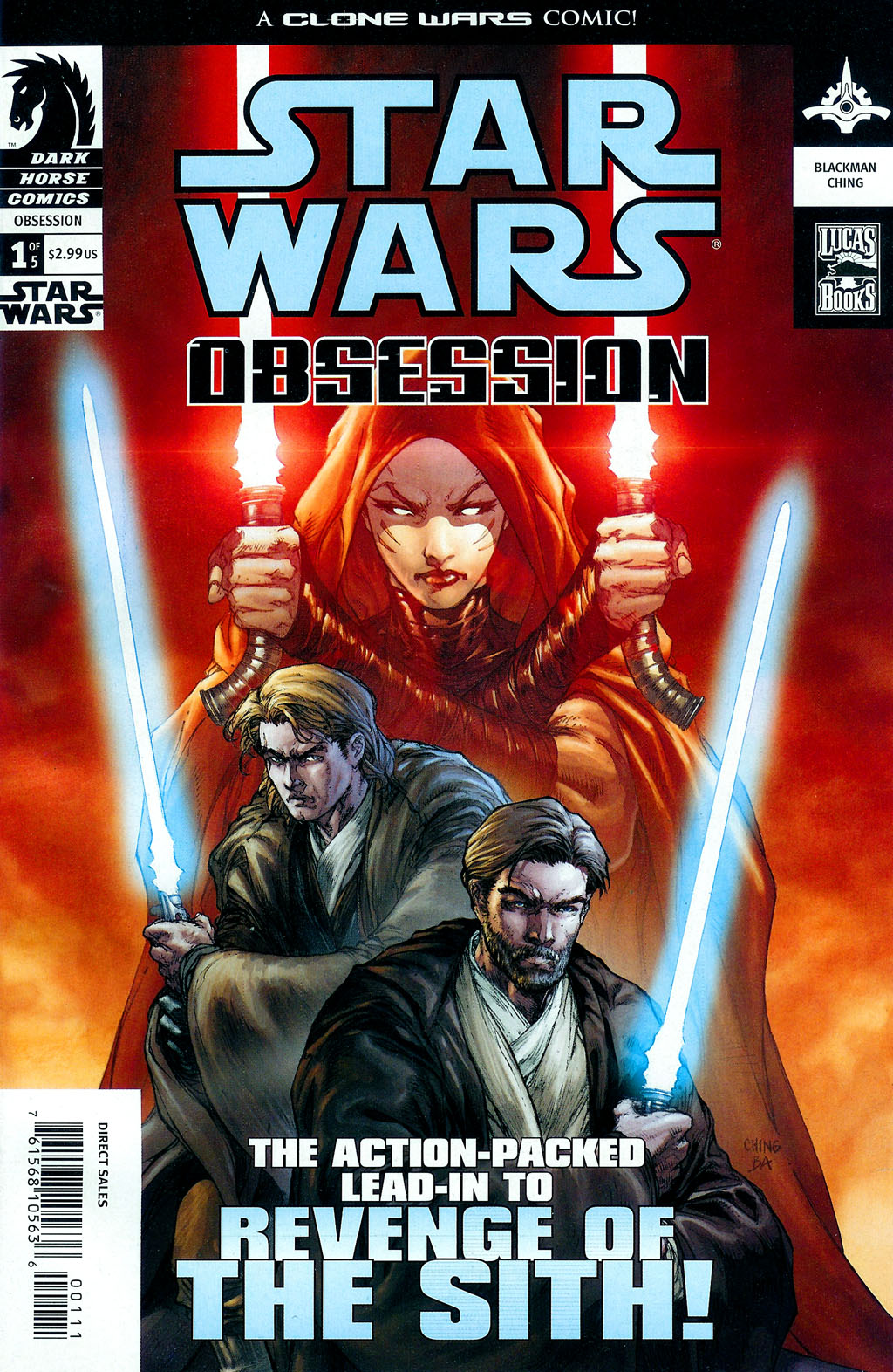 Star Wars: Obsession issue 1 - Page 1