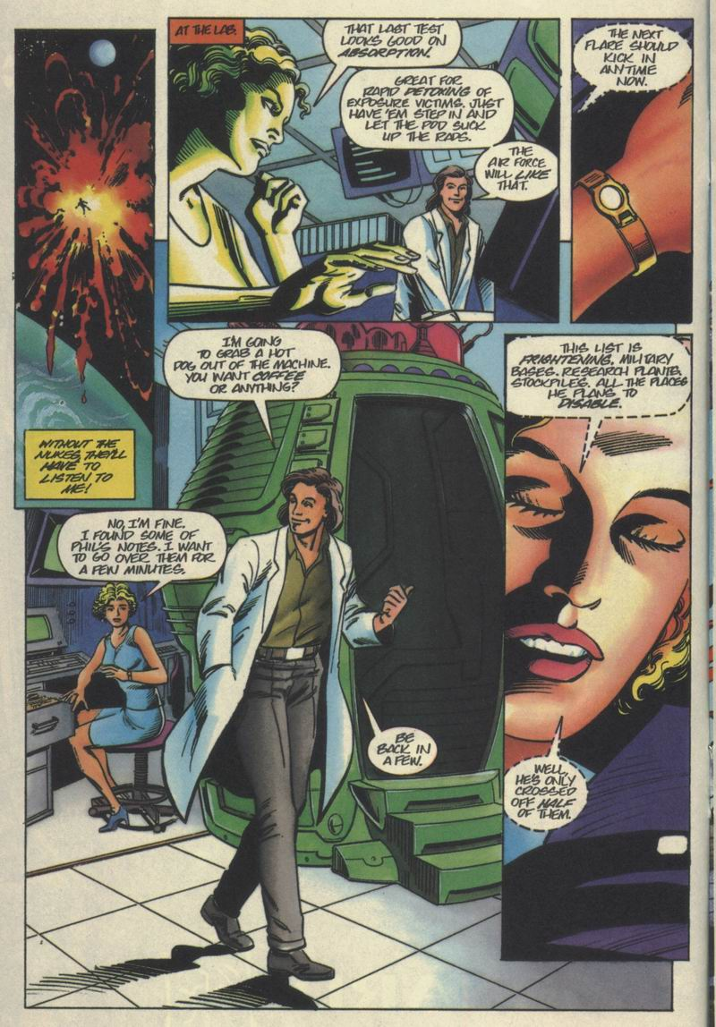 Read online Solar, Man of the Atom comic -  Issue #40 - 11