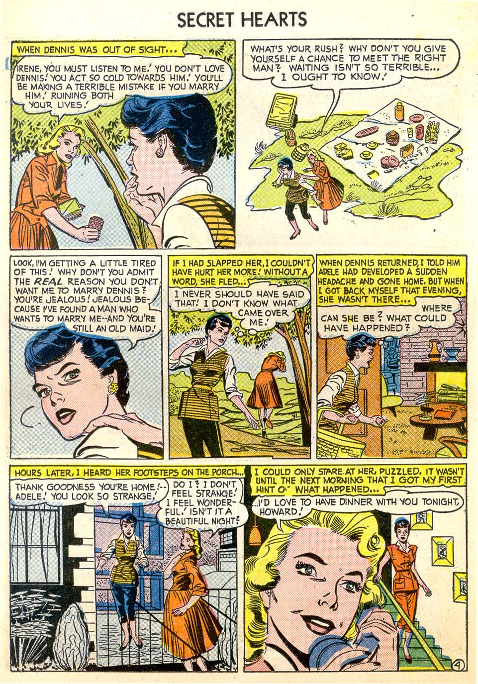 Read online Secret Hearts comic -  Issue #26 - 14