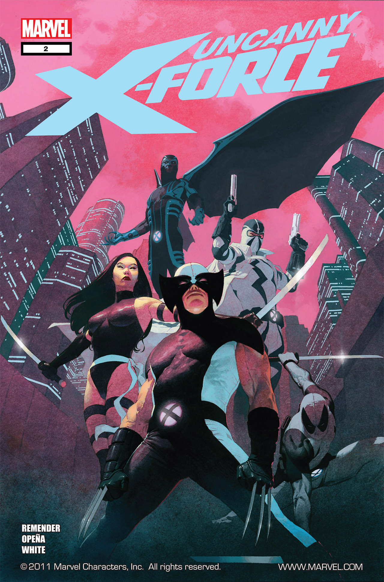 Read online Uncanny X-Force (2010) comic -  Issue #2 - 1