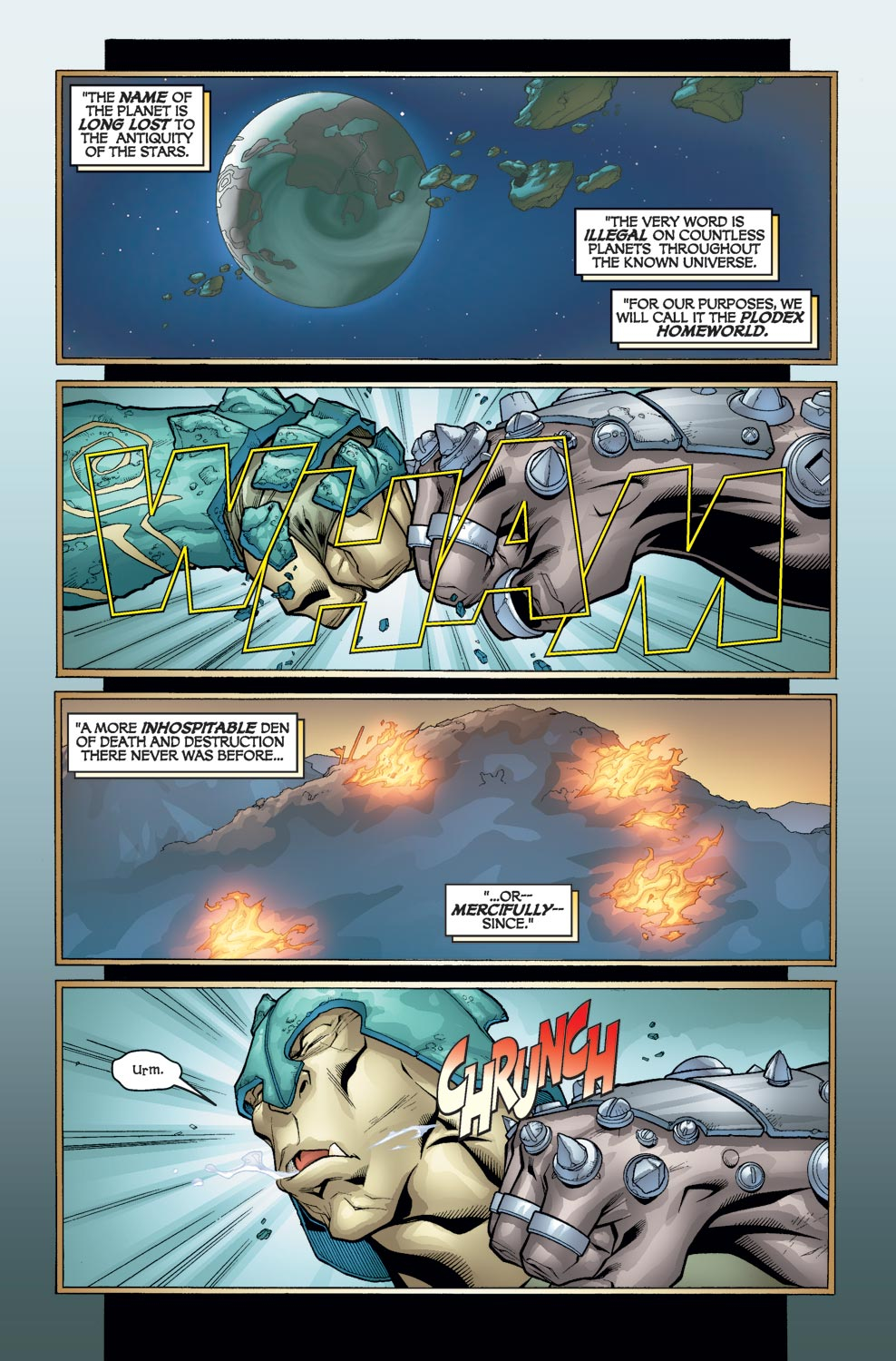Alpha Flight (2004) issue 3 - Page 3