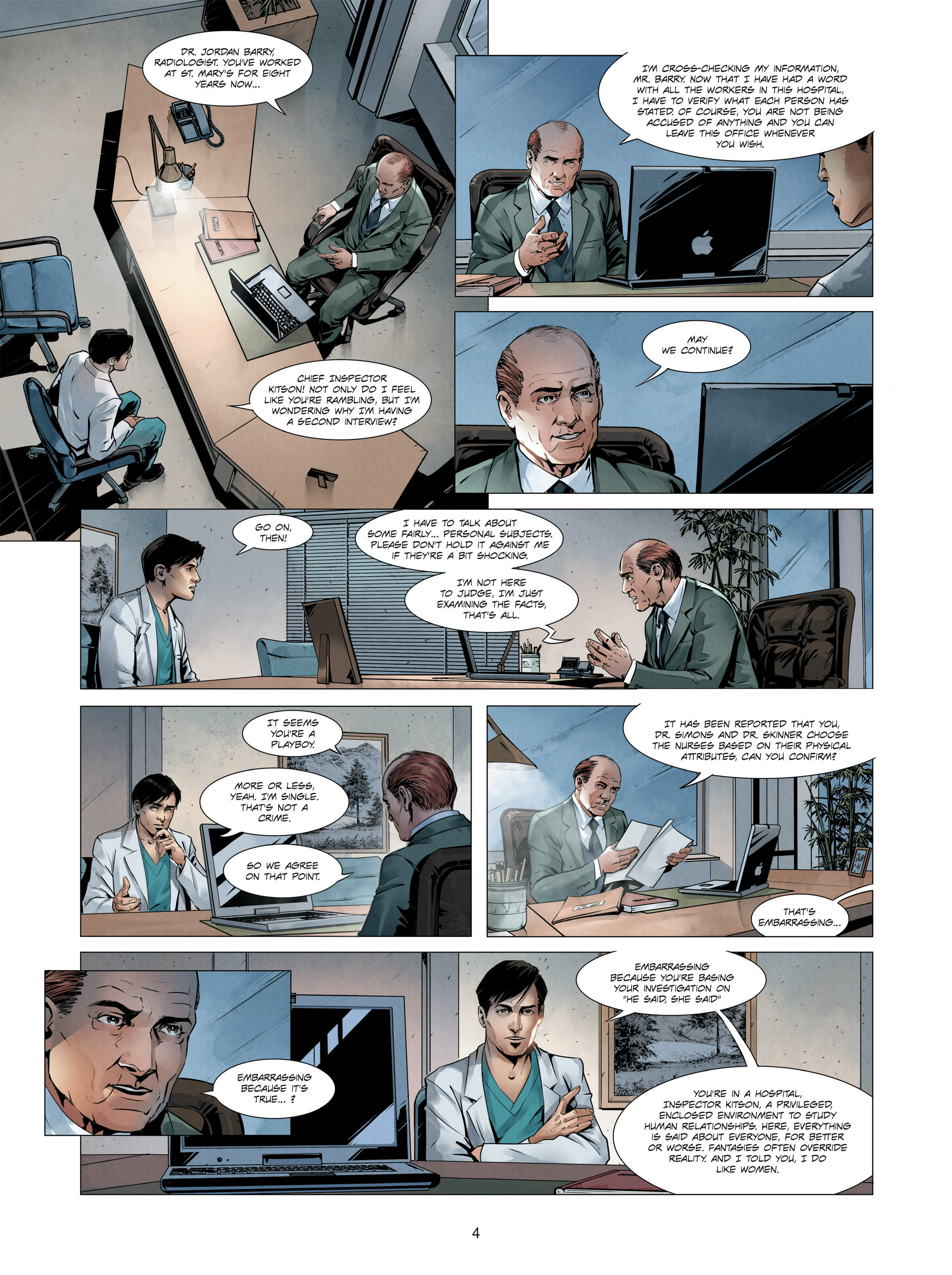 Read online Alice Matheson comic -  Issue #3 - 4