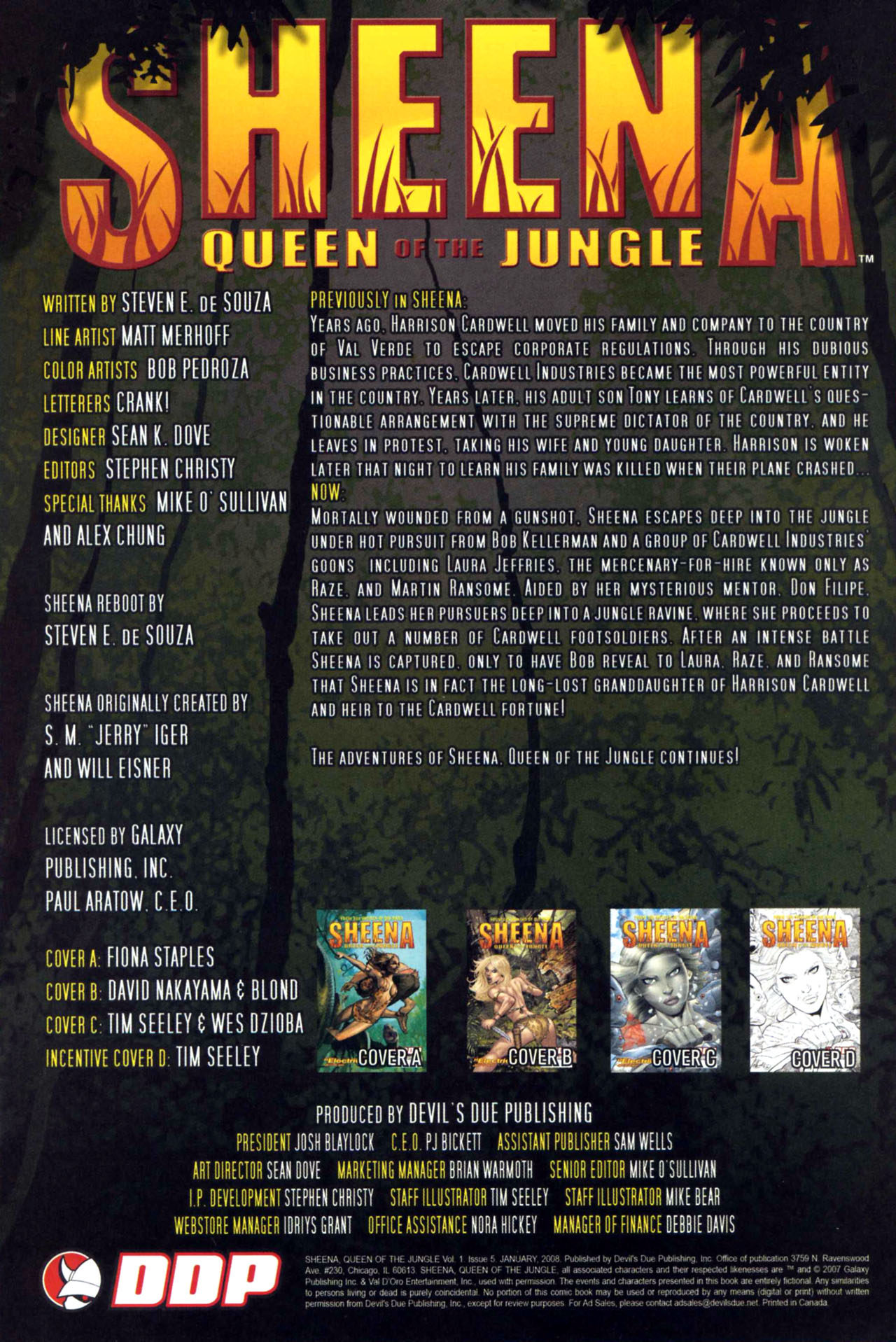 Read online Sheena, Queen of the Jungle comic -  Issue #5 - 2