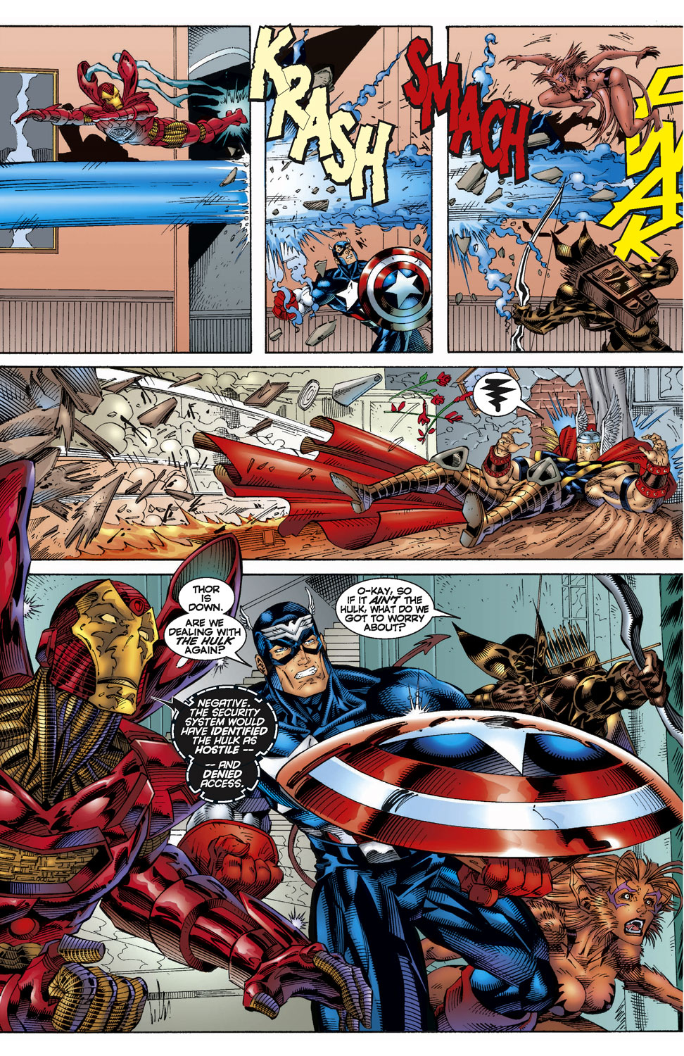 Read online Avengers (1996) comic -  Issue #7 - 16
