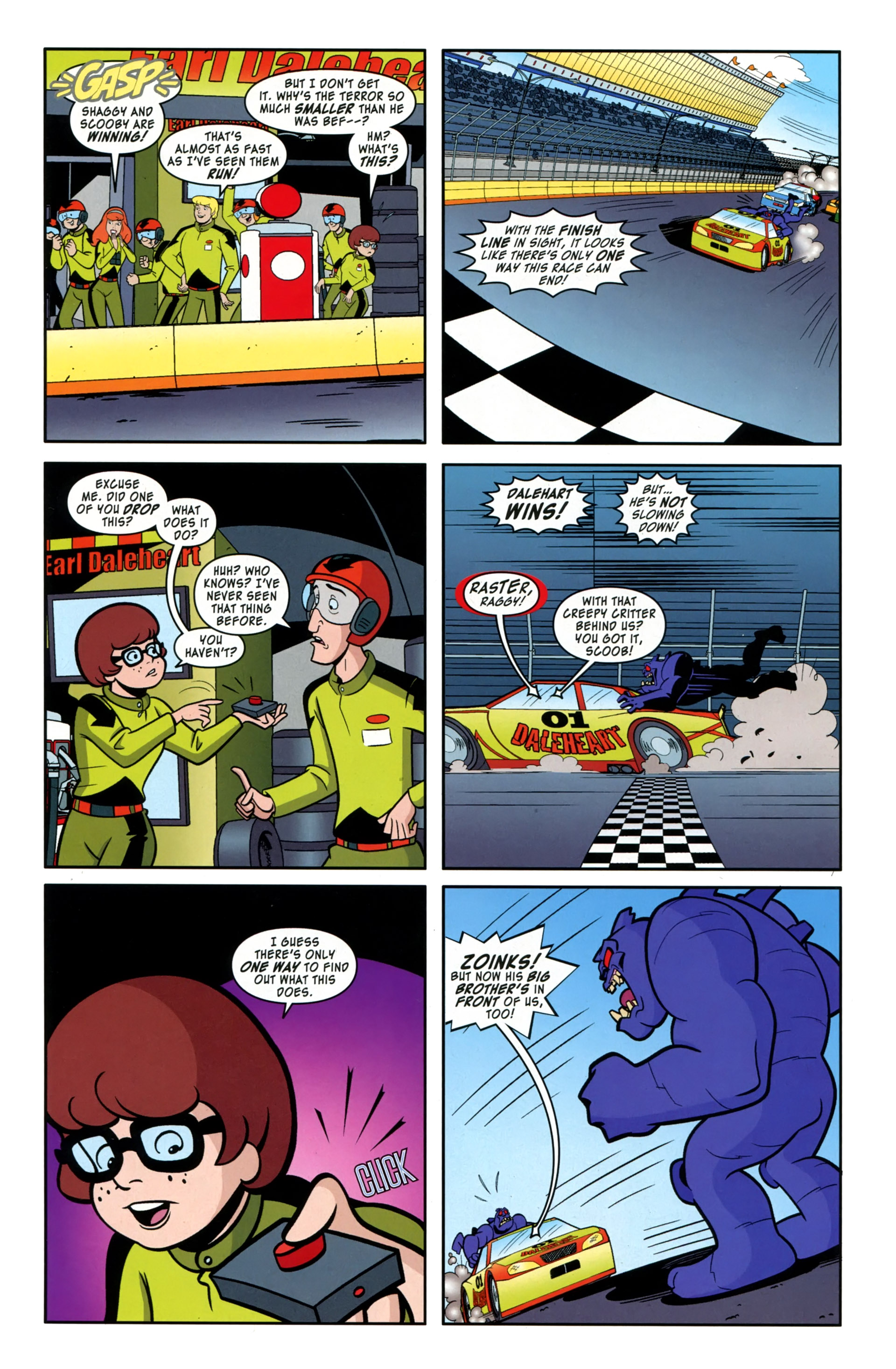 Read online Scooby-Doo: Where Are You? comic -  Issue #36 - 11