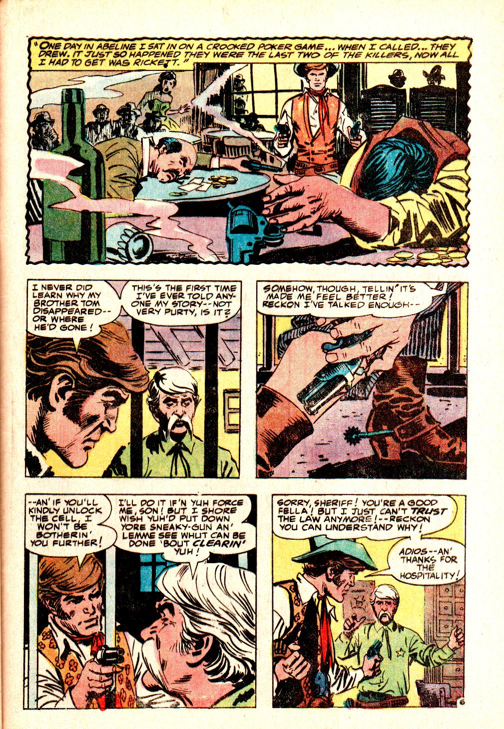 Read online All-Star Western (1970) comic -  Issue #10 - 41