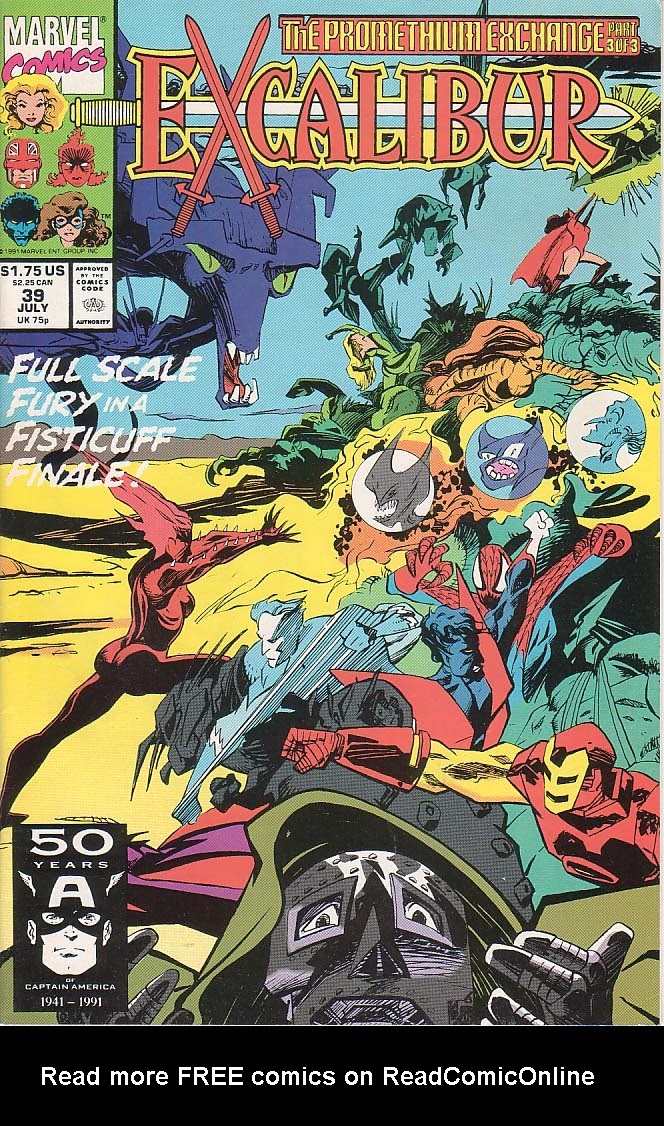 Excalibur (1988) issue 39 - Page 1