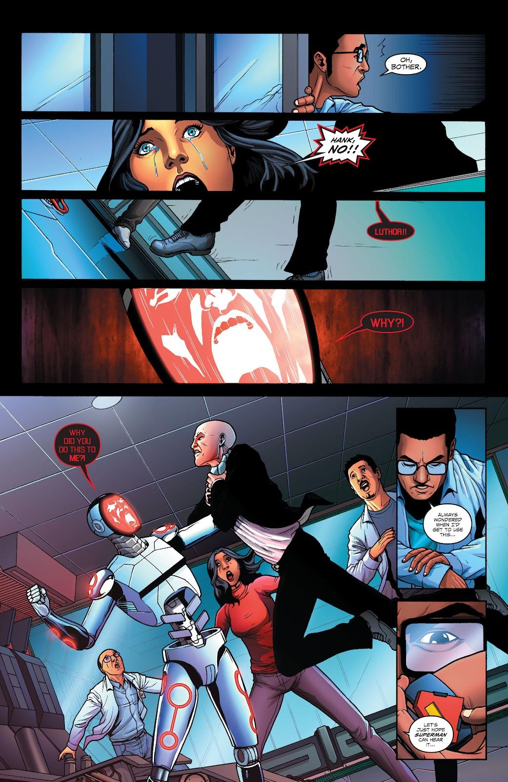 Read online Smallville Season 11 [II] comic -  Issue # TPB 1 - 100