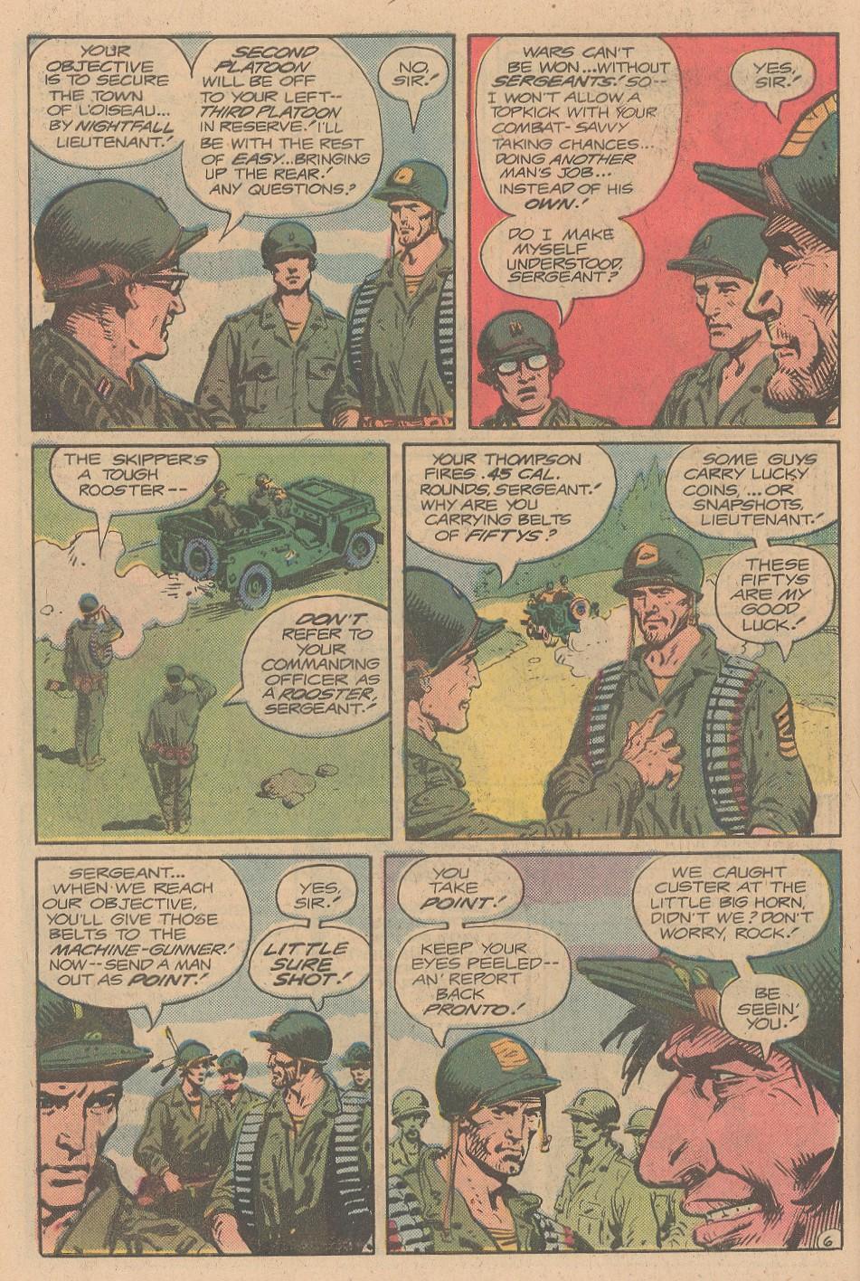 Read online Sgt. Rock comic -  Issue #356 - 7