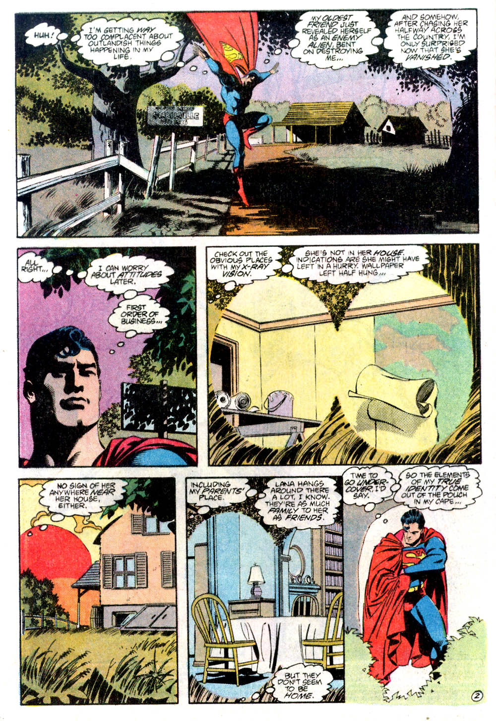 Read online Adventures of Superman (1987) comic -  Issue #436 - 3