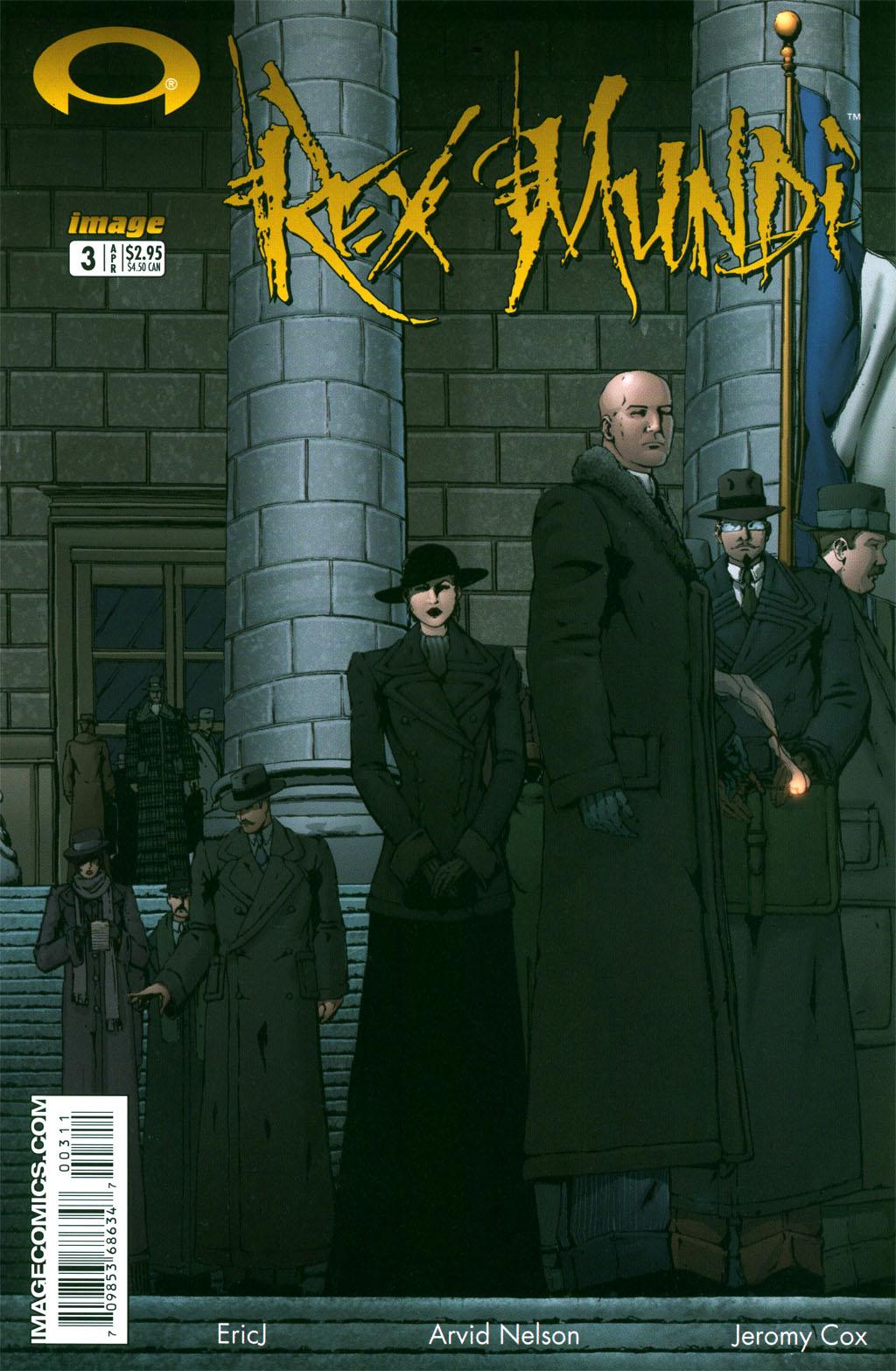 Read online Rex Mundi comic -  Issue #3 - 2
