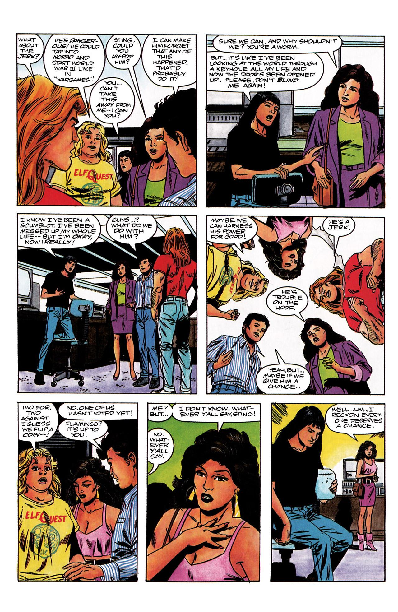 Read online Harbinger (1992) comic -  Issue #3 - 9
