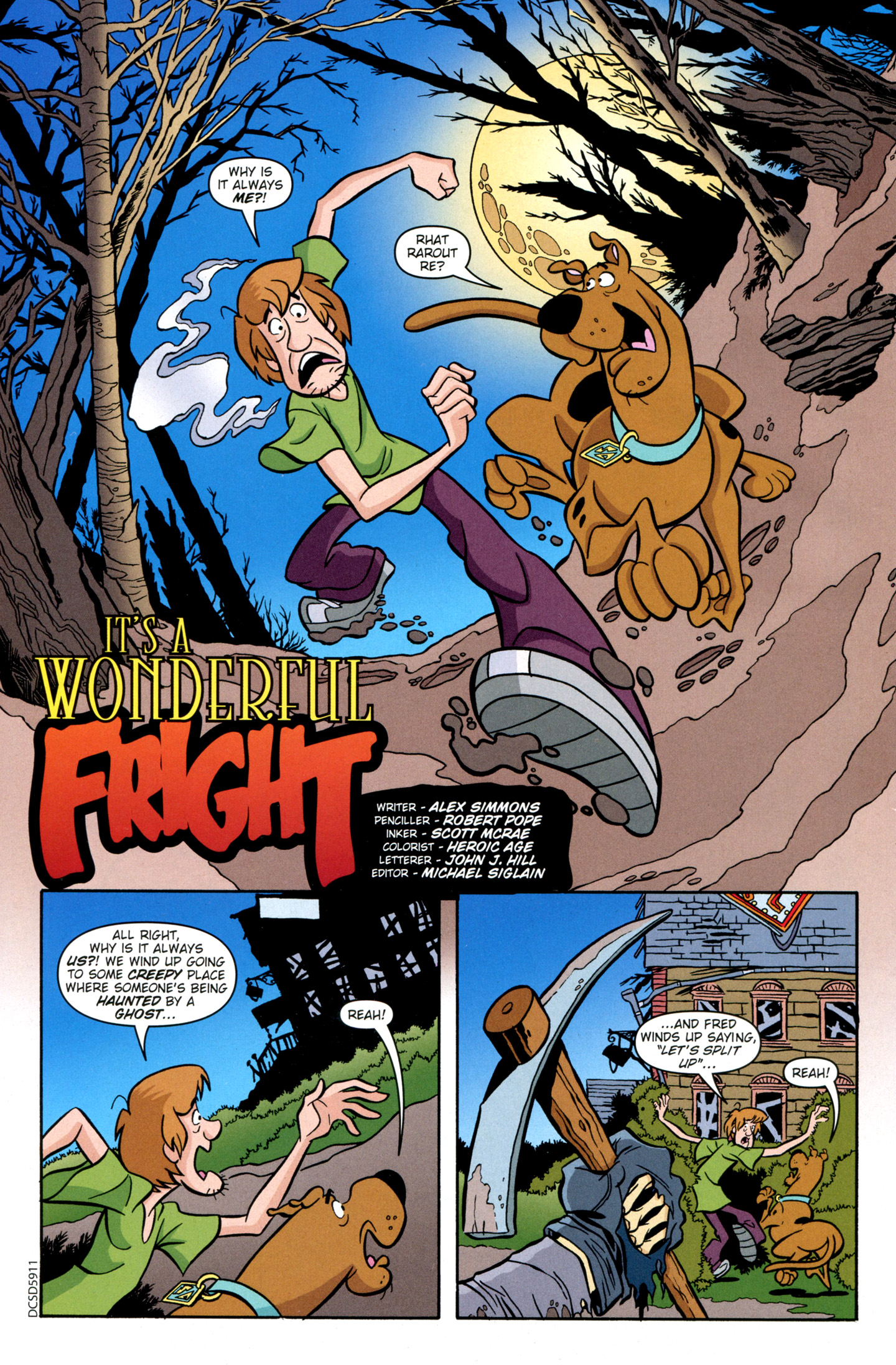 Read online Scooby-Doo: Where Are You? comic -  Issue #28 - 18