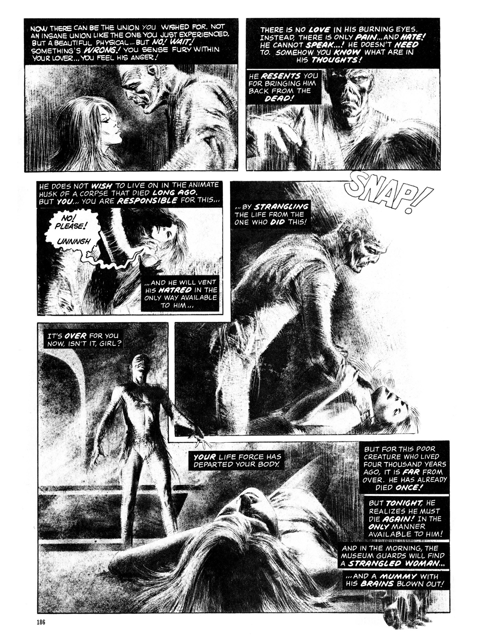 Read online Eerie Archives comic -  Issue # TPB 13 - 187