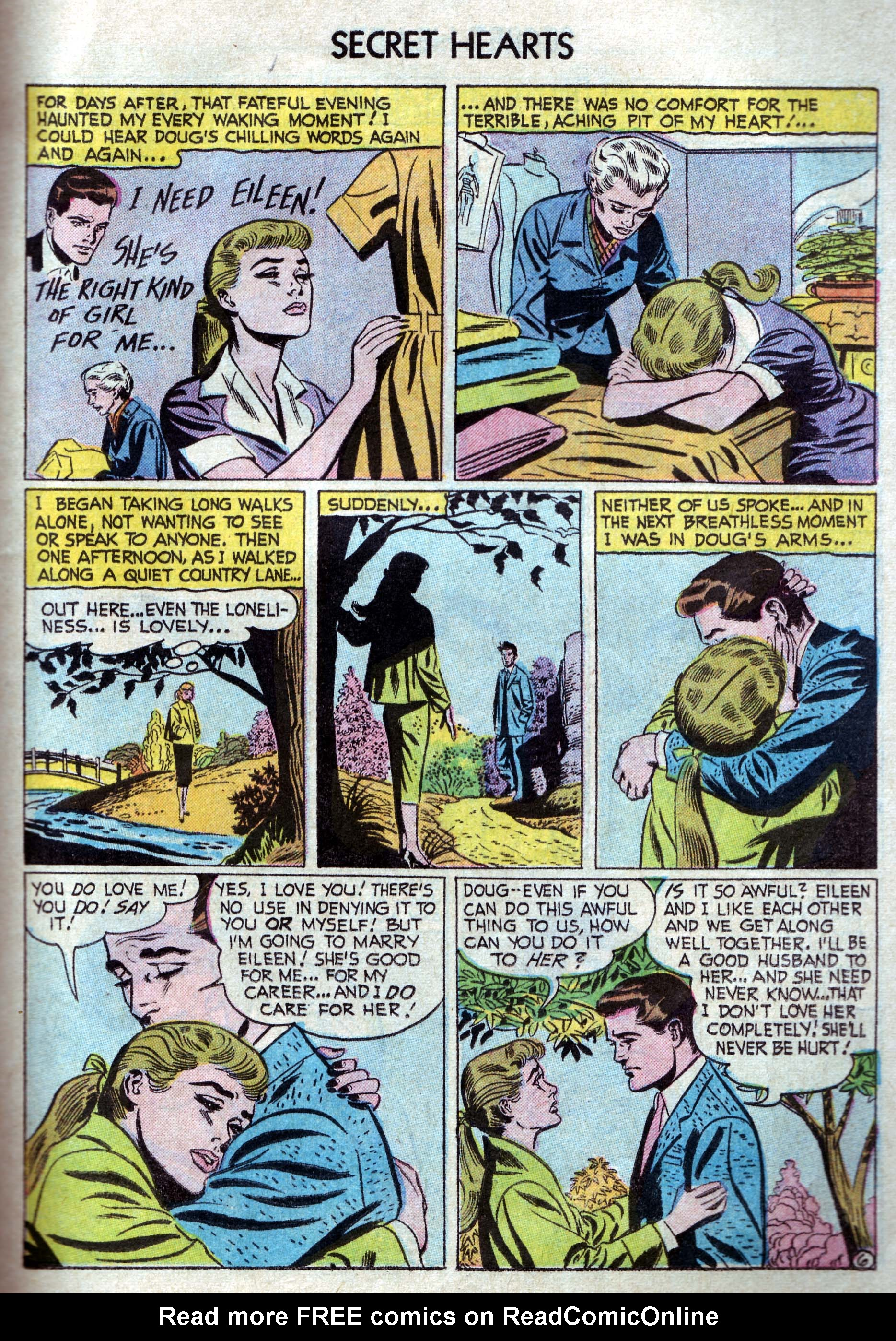 Read online Secret Hearts comic -  Issue #33 - 15