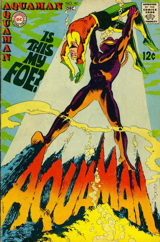 Read online Aquaman (1962) comic -  Issue #42 - 1