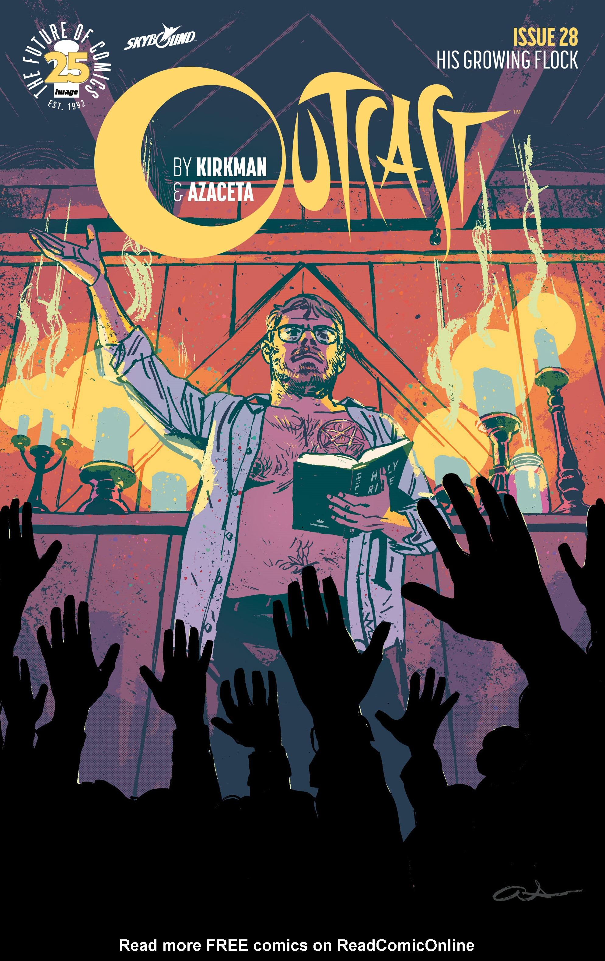 Read online Outcast by Kirkman & Azaceta comic -  Issue #28 - 1