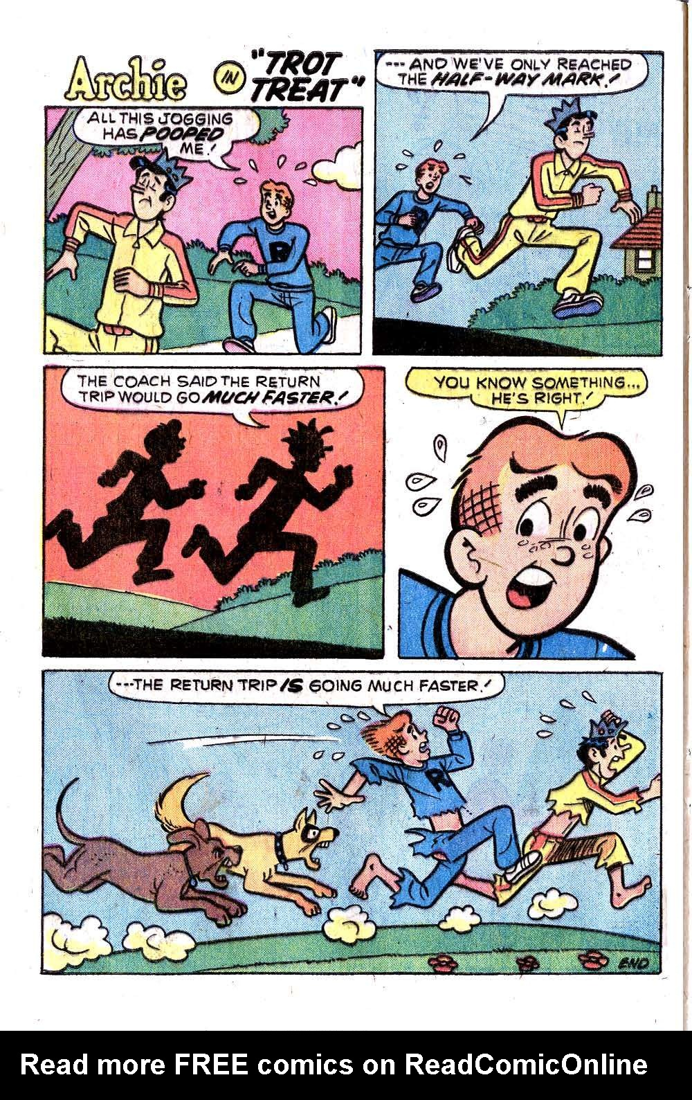 Read online Archie (1960) comic -  Issue #258 - 8