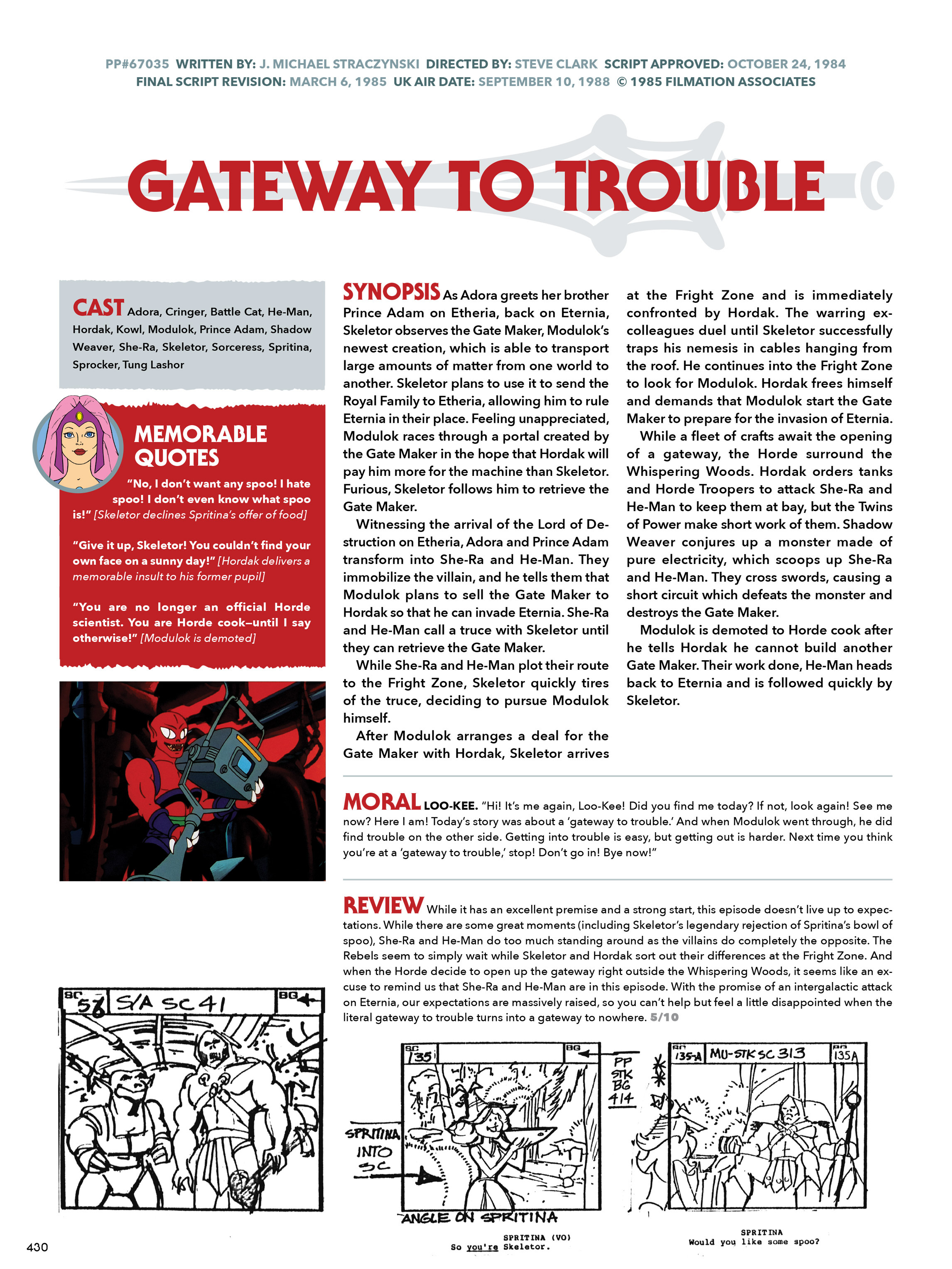 Read online He-Man and She-Ra: A Complete Guide to the Classic Animated Adventures comic -  Issue # TPB (Part 3) - 31