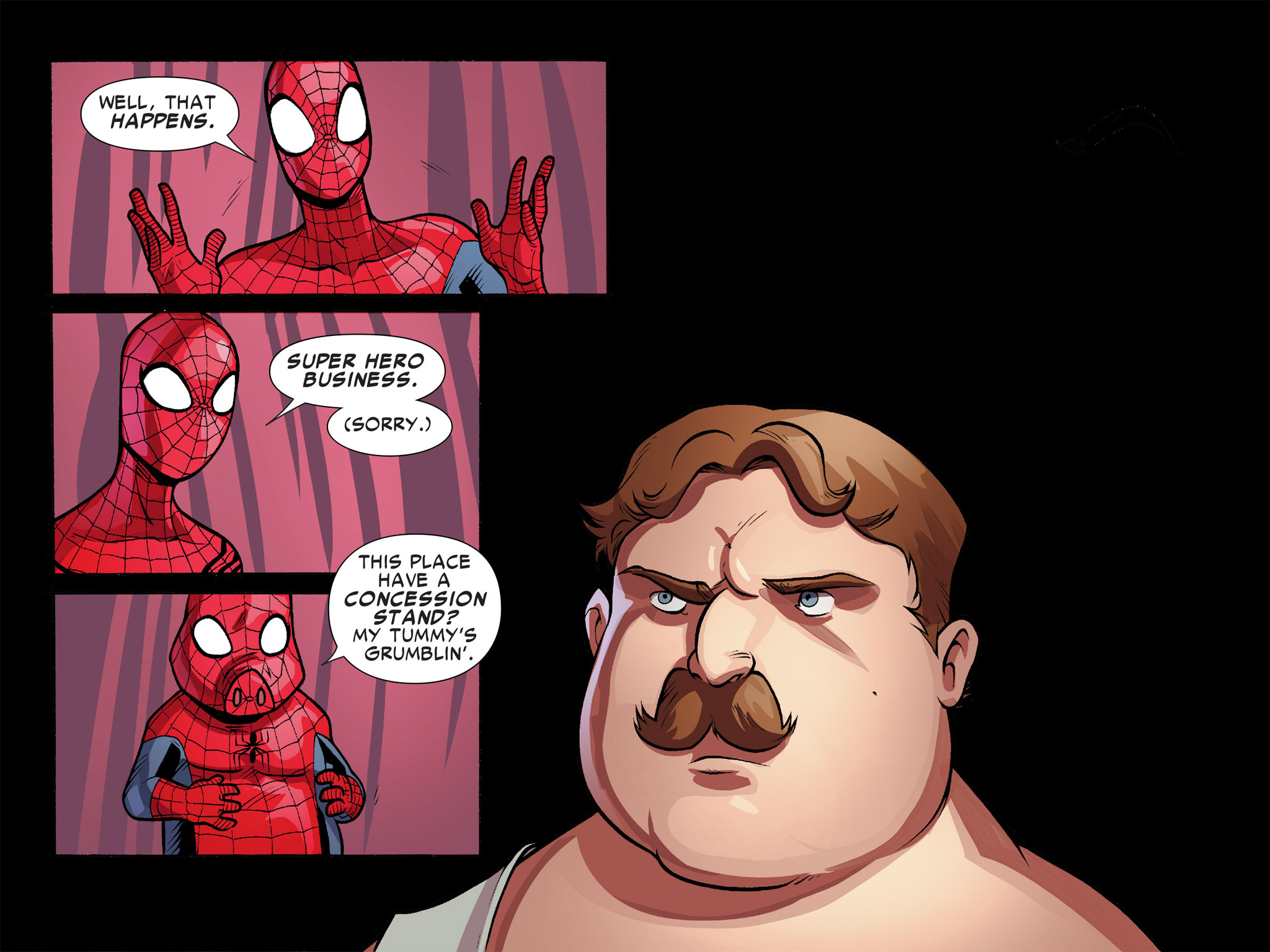 Read online Ultimate Spider-Man (Infinite Comics) (2016) comic -  Issue #9 - 61