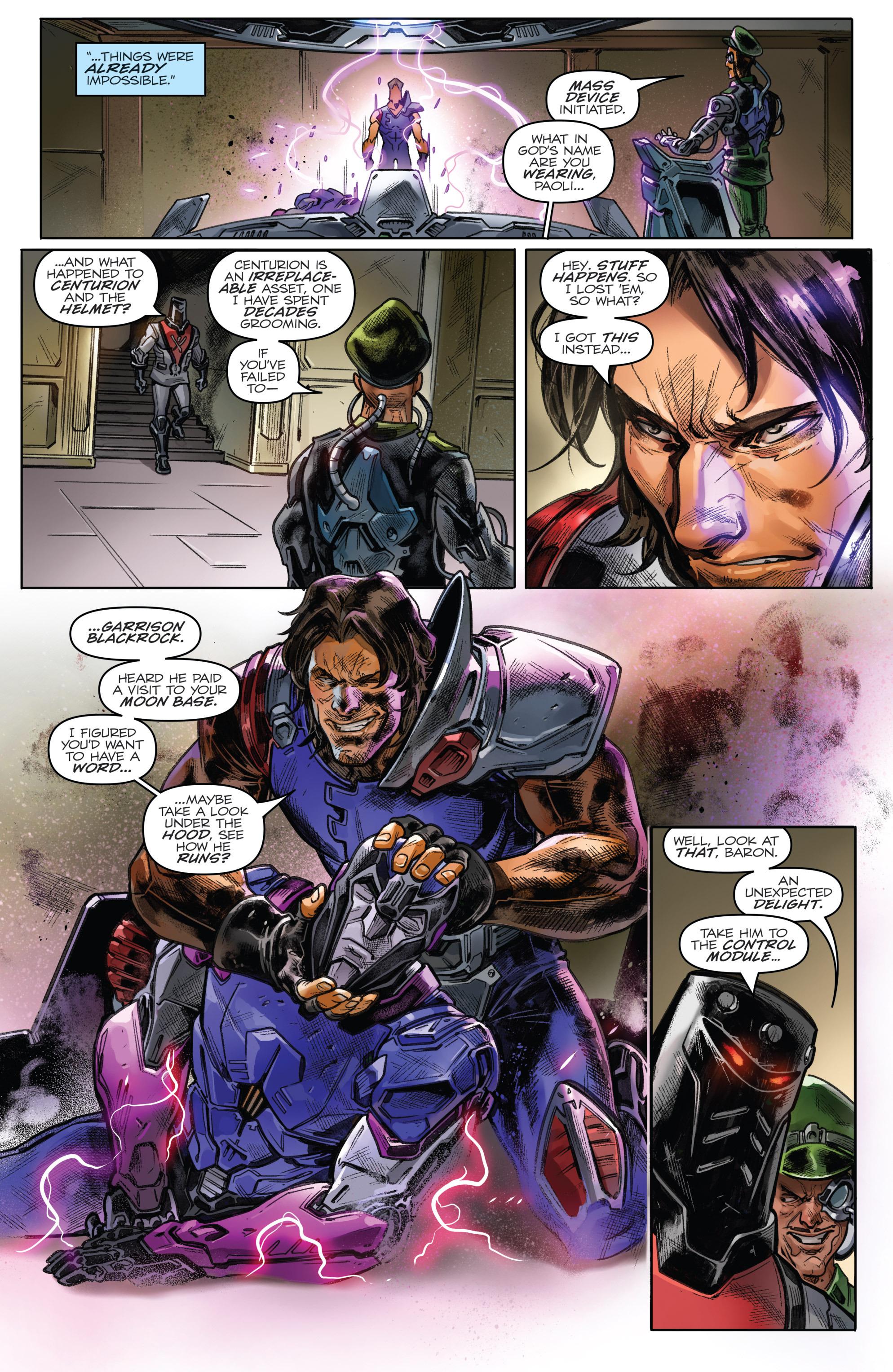Read online Revolutionaries comic -  Issue #4 - 9