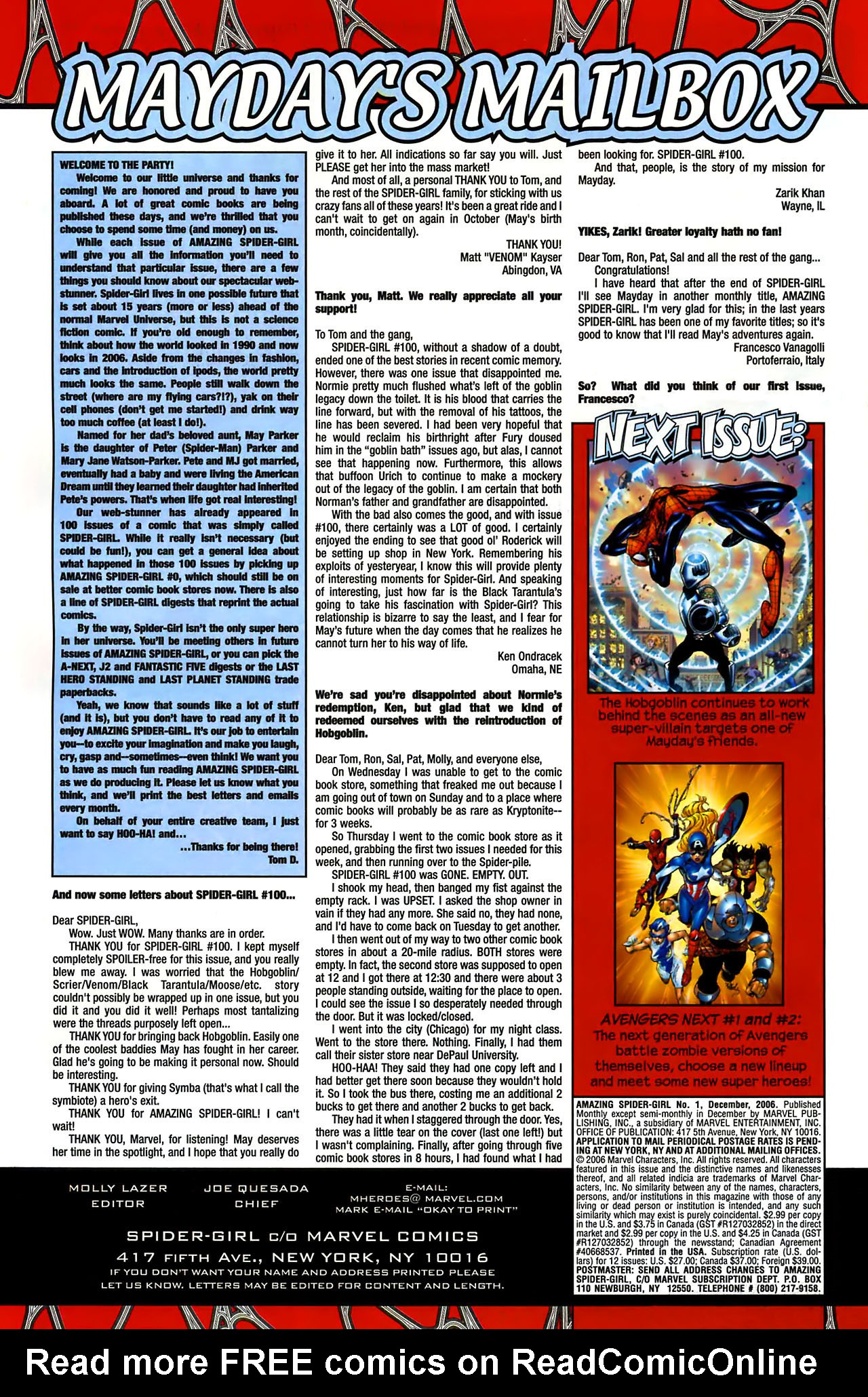 Read online Amazing Spider-Girl comic -  Issue #1 - 26
