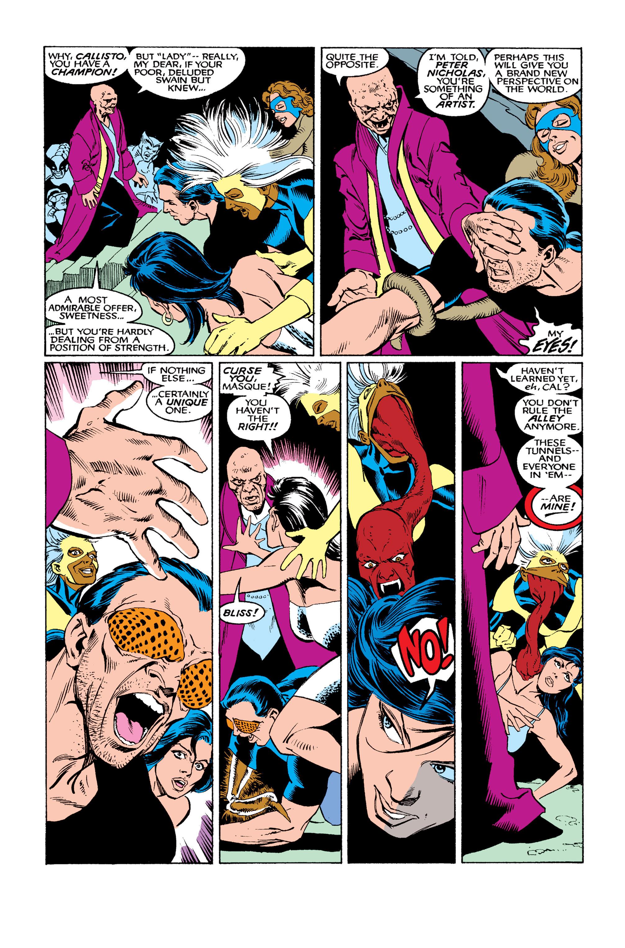 Read online Uncanny X-Men (1963) comic -  Issue #263 - 8
