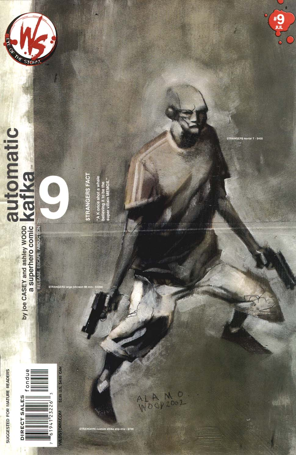 Read online Automatic Kafka comic -  Issue #9 - 1