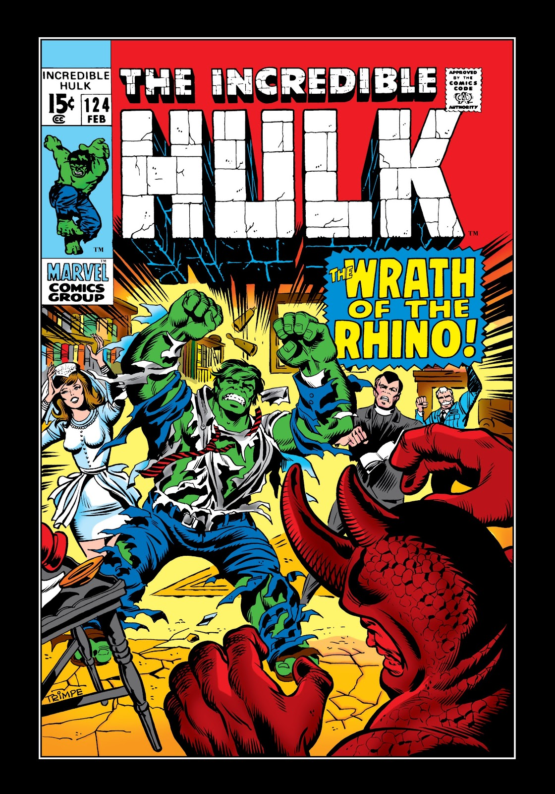 Read online Marvel Masterworks: The Incredible Hulk comic -  Issue # TPB 6 (Part 1) - 51