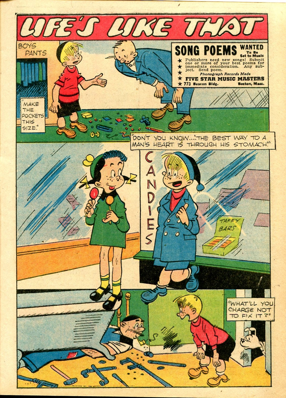 Read online Famous Funnies comic -  Issue #111 - 9