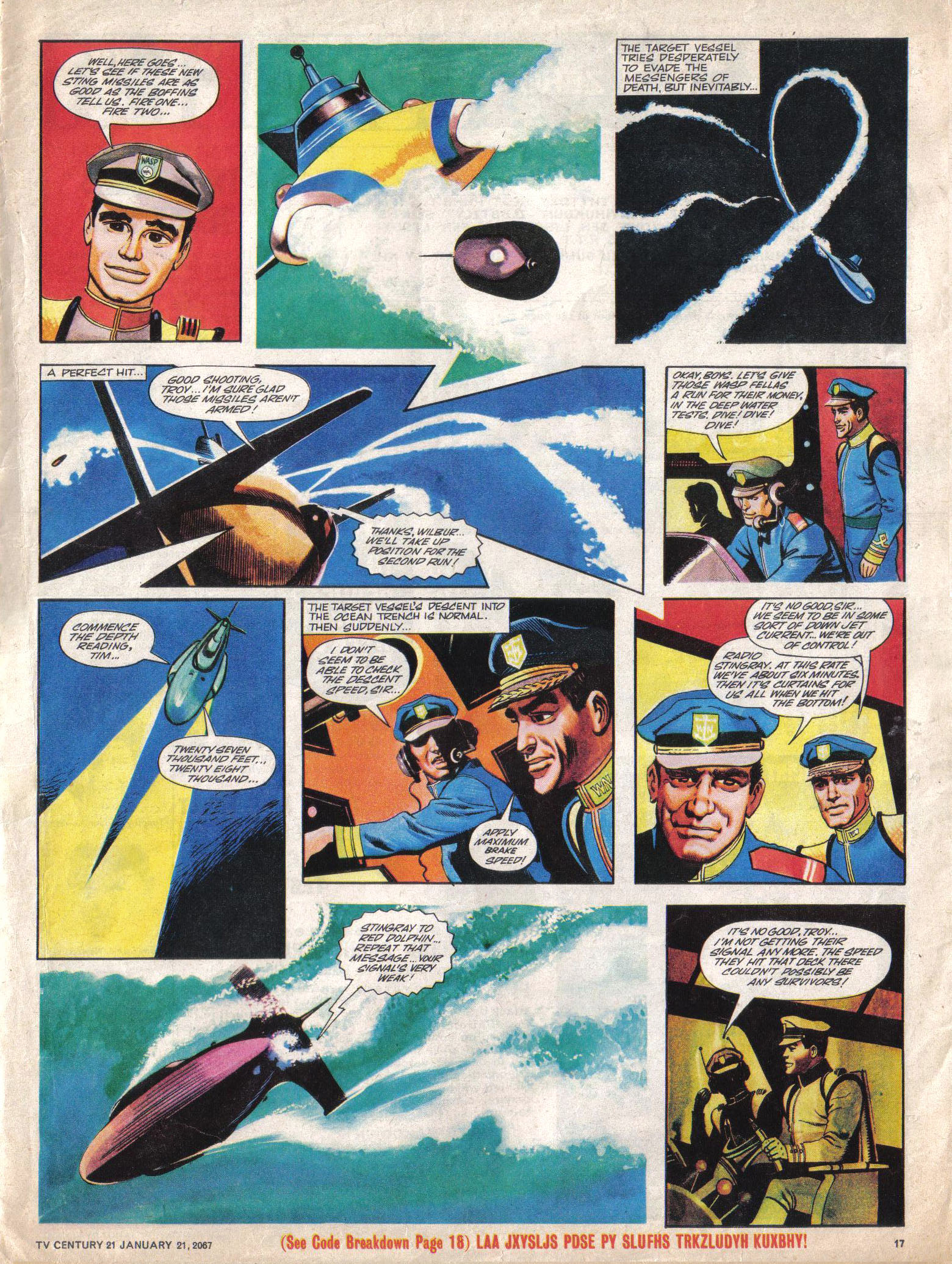 Read online TV Century 21 (TV 21) comic -  Issue #105 - 16