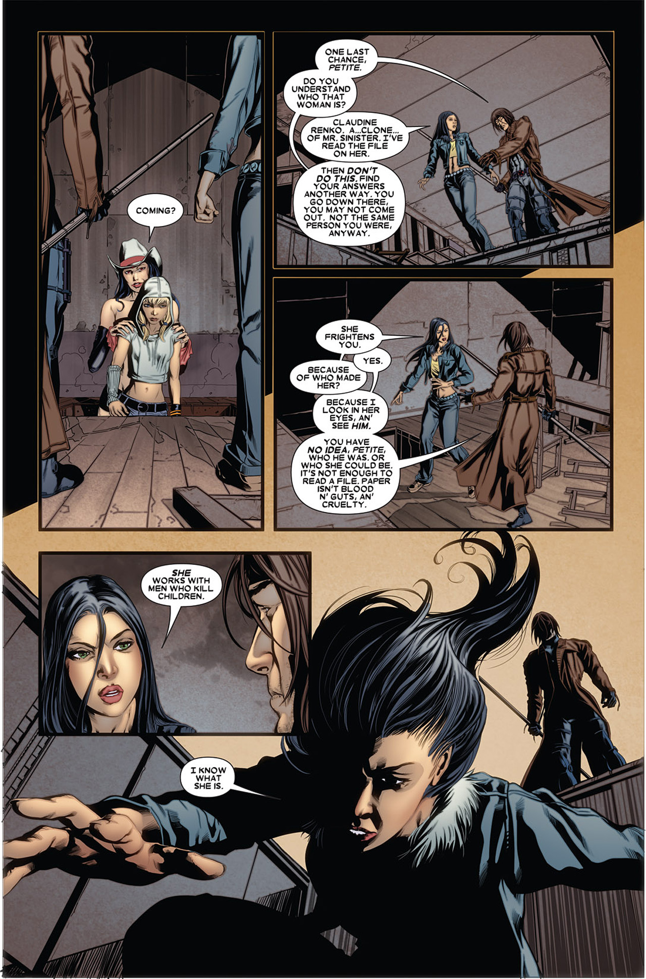 Read online X-23 (2010) comic -  Issue #5 - 5