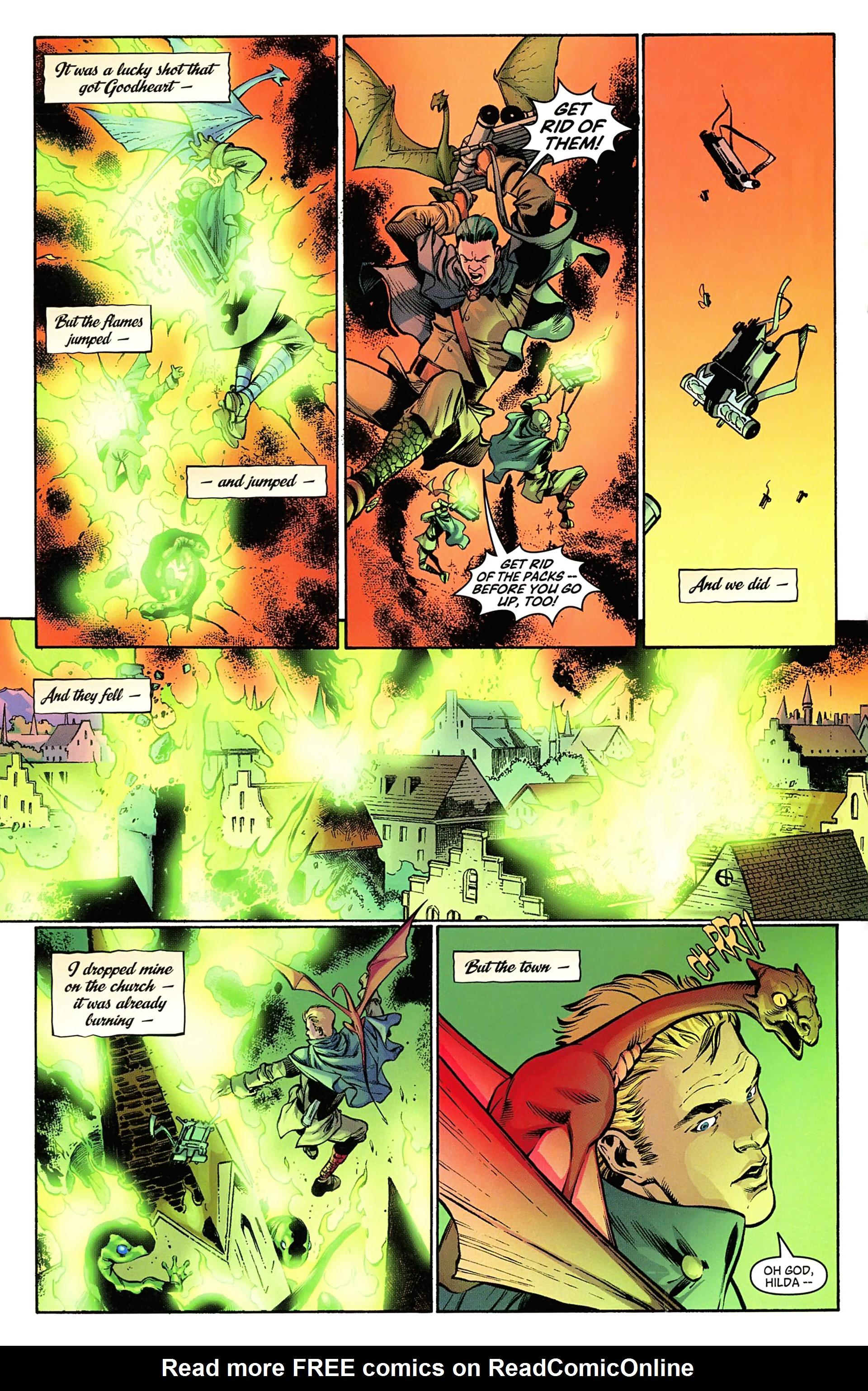 Read online Arrowsmith comic -  Issue #5 - 13