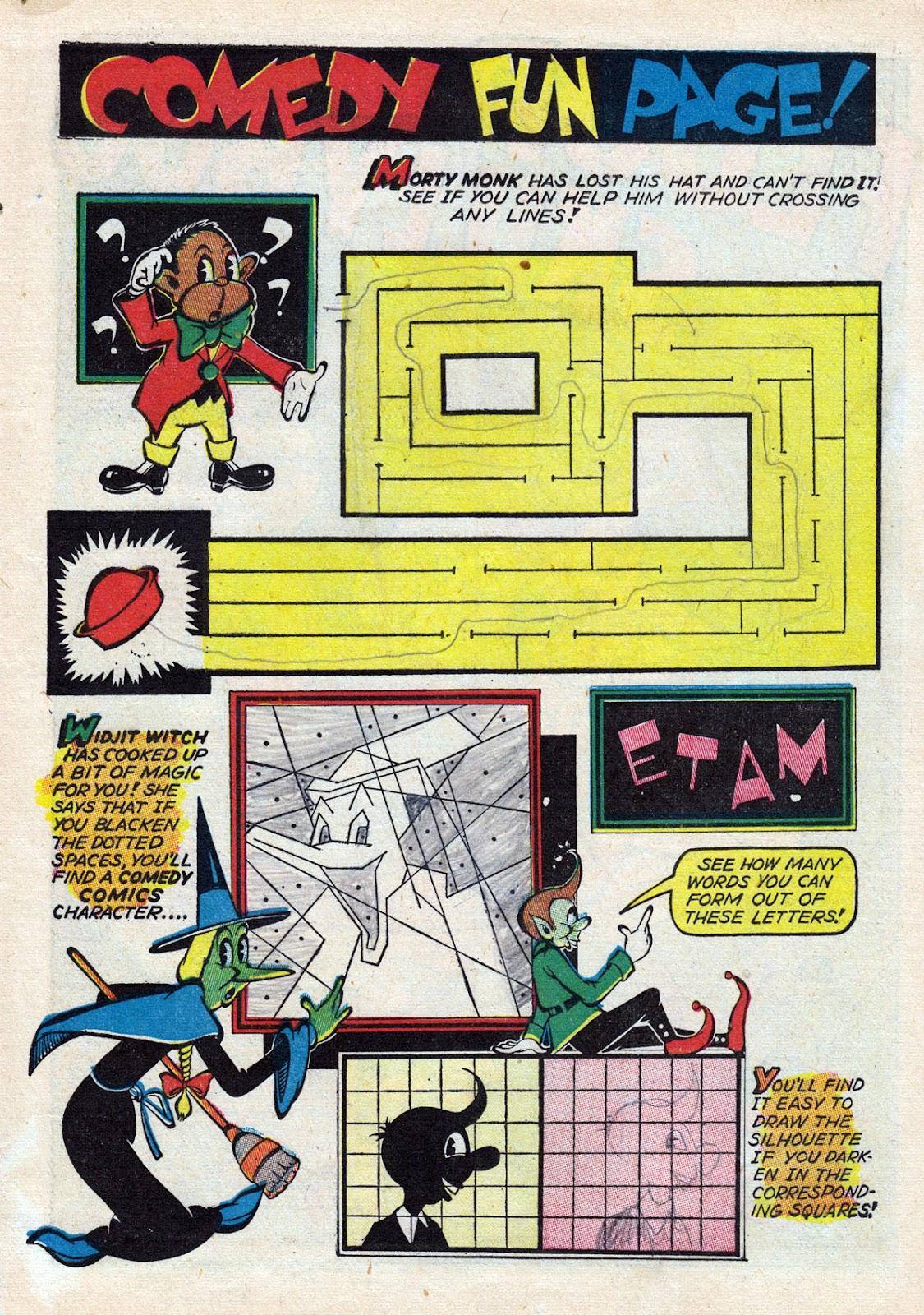 Read online Comedy Comics (1942) comic -  Issue #14 - 11