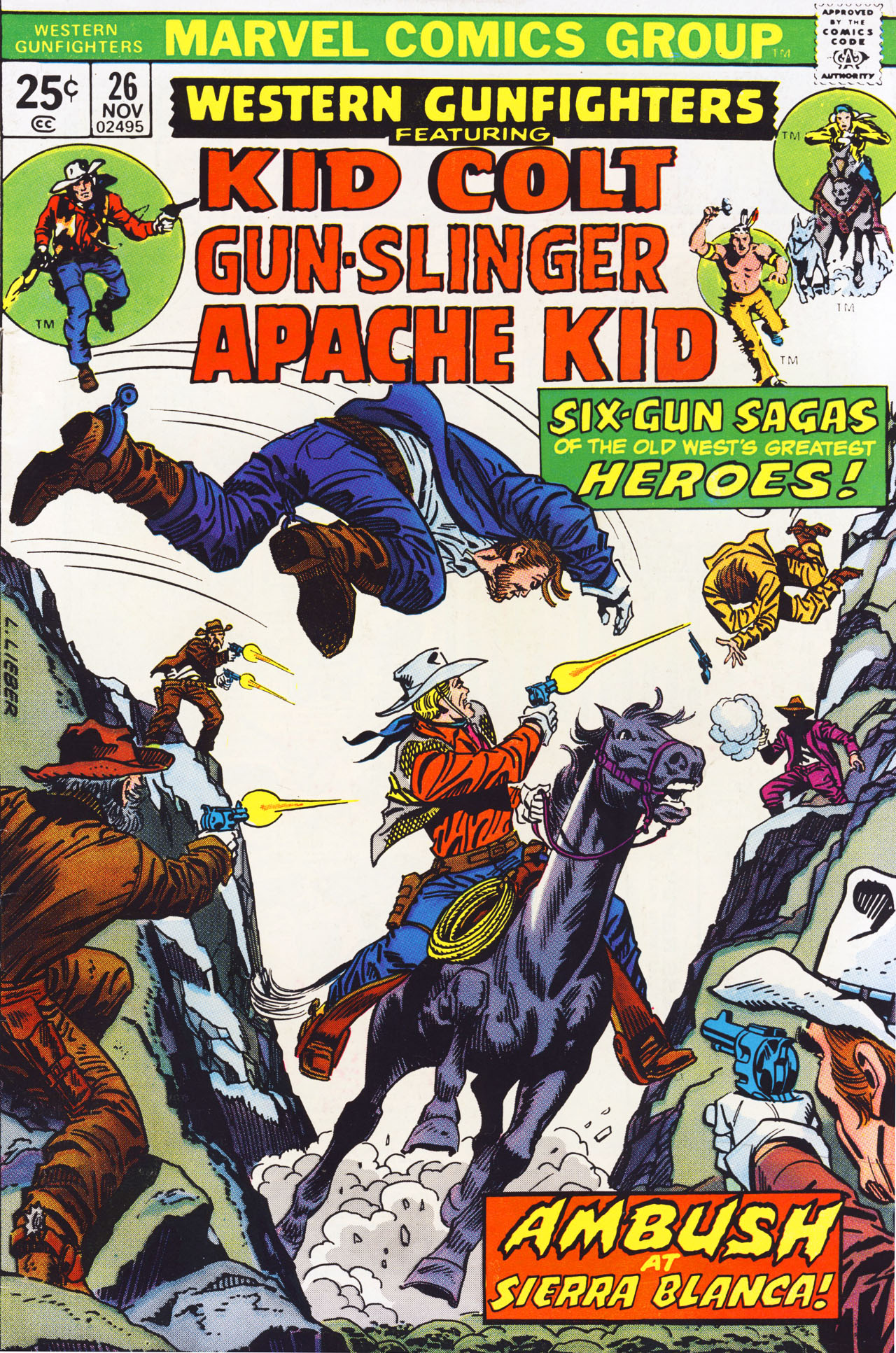 Western Gunfighters 26 Page 1
