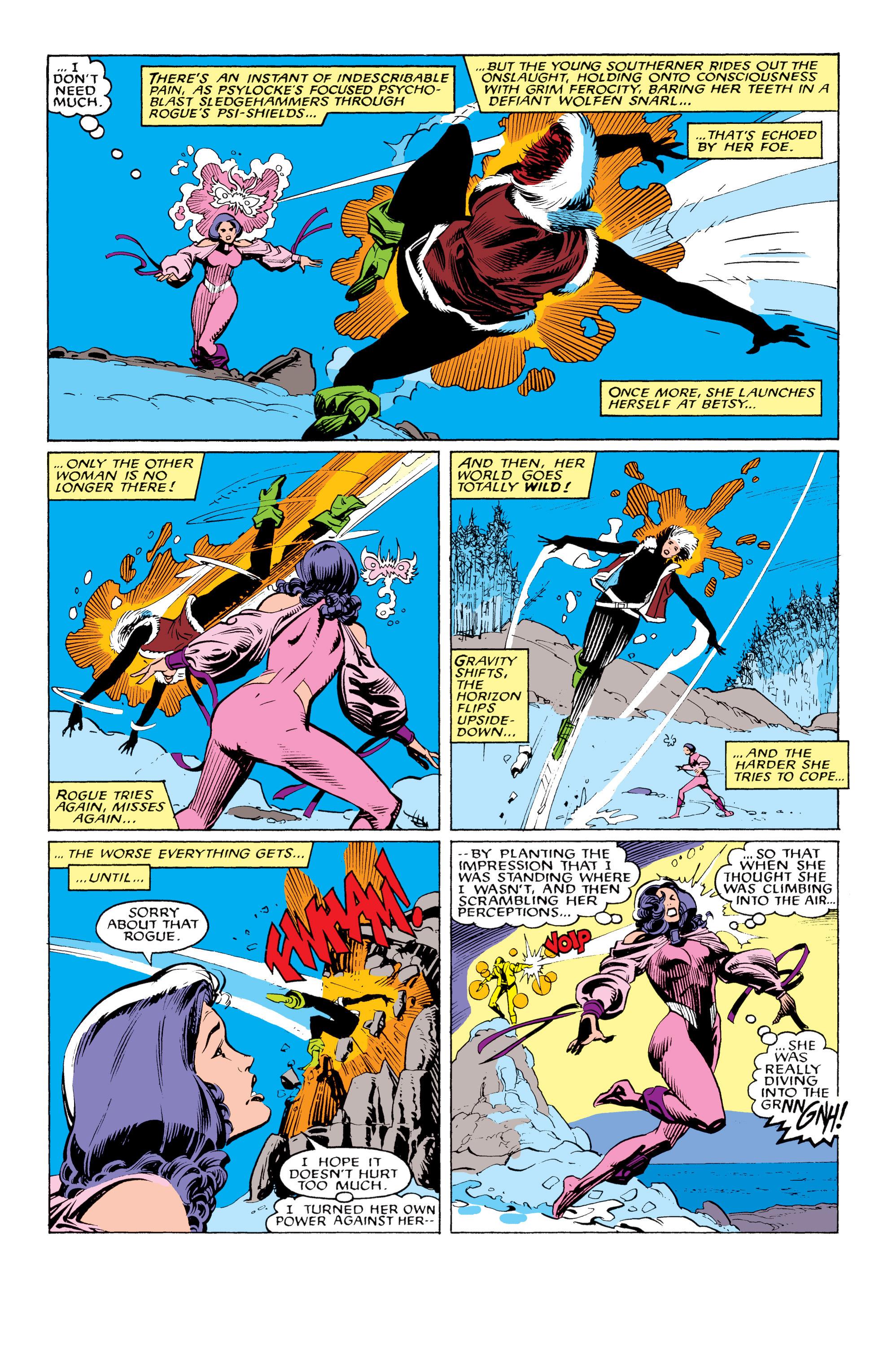 Read online Uncanny X-Men (1963) comic -  Issue #217 - 5