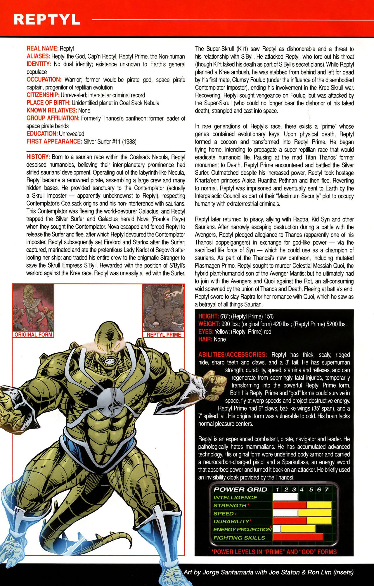 Read online All-New Official Handbook of the Marvel Universe A to Z: Update comic -  Issue #1 - 47