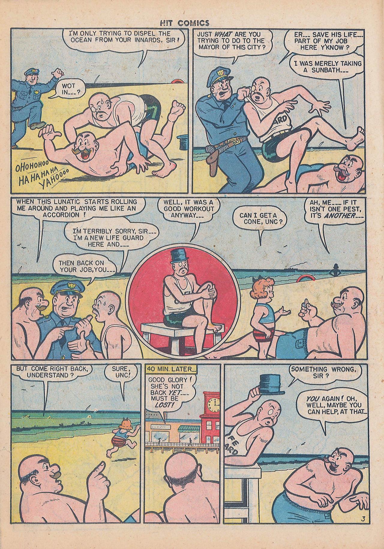 Read online Hit Comics comic -  Issue #64 - 18