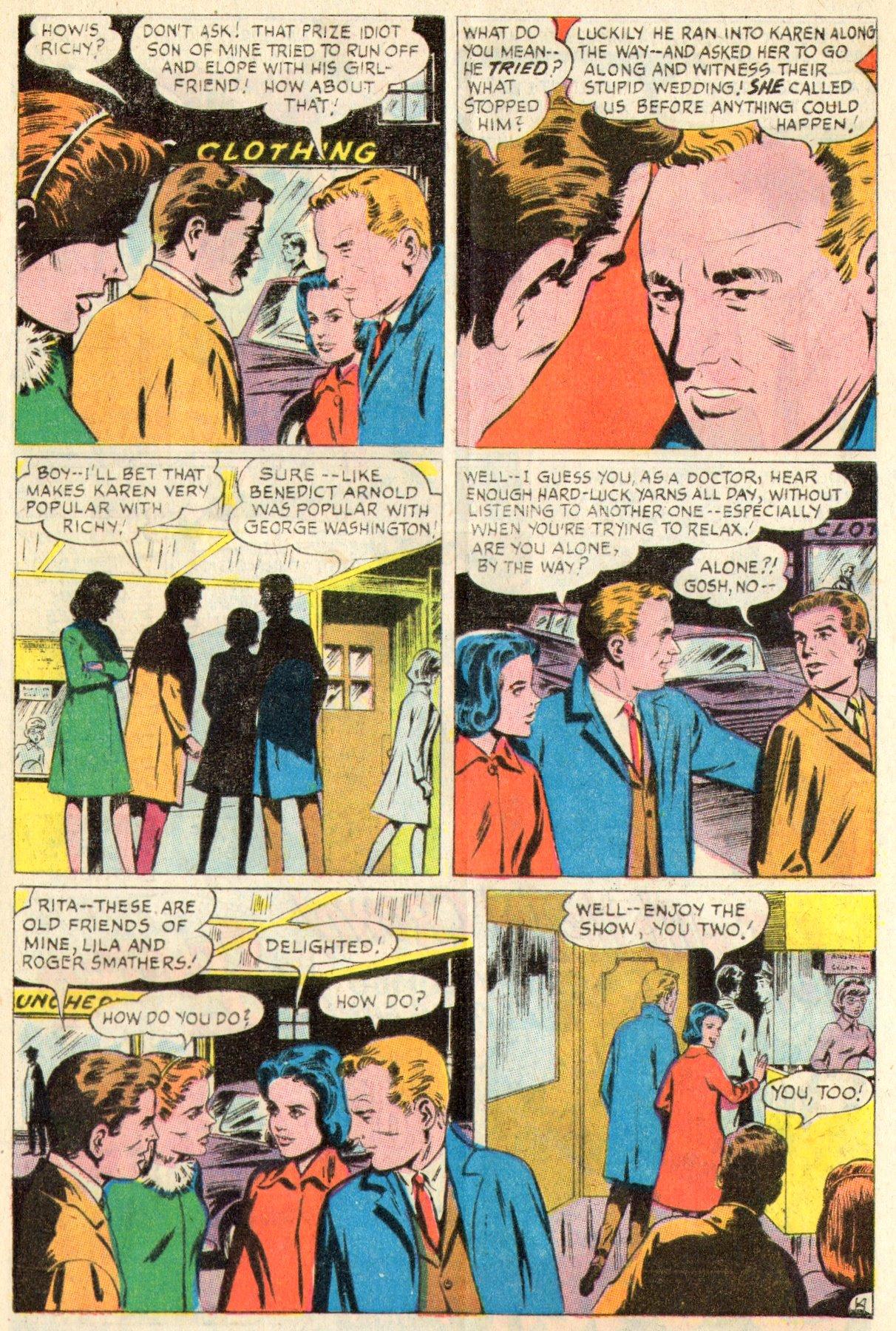 Read online Secret Hearts comic -  Issue #117 - 33